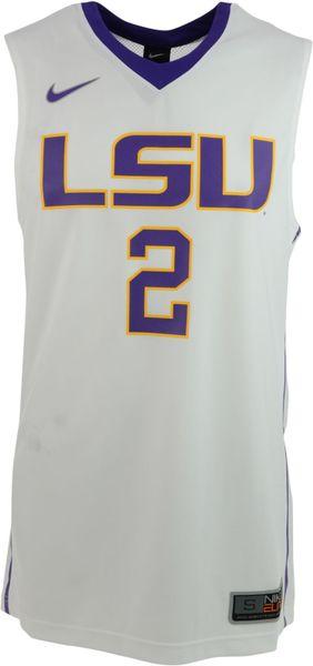Nike Men S Lsu Tigers Replica Basketball Jersey In White For Men Lyst