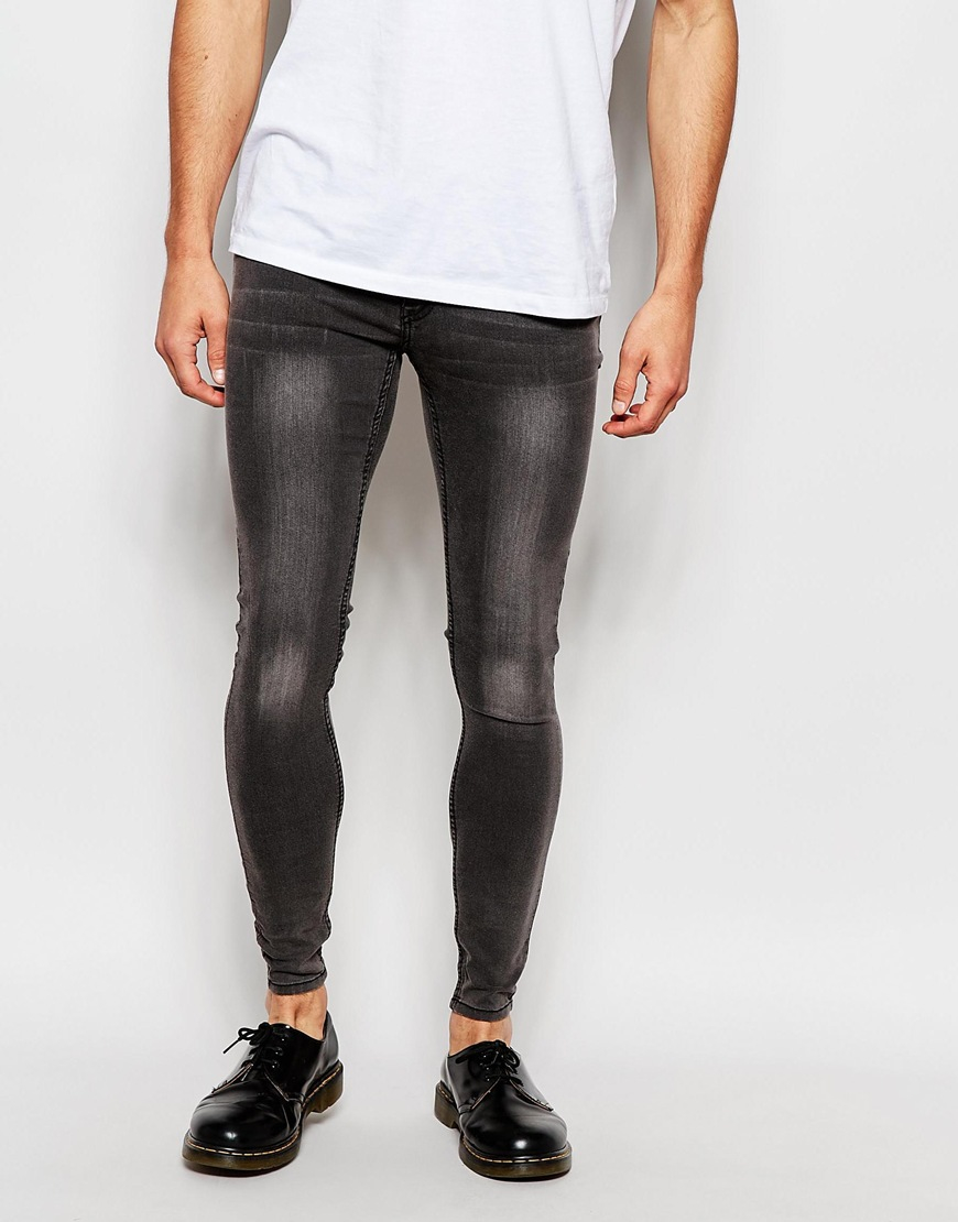 Cheap monday grey skinny jeans