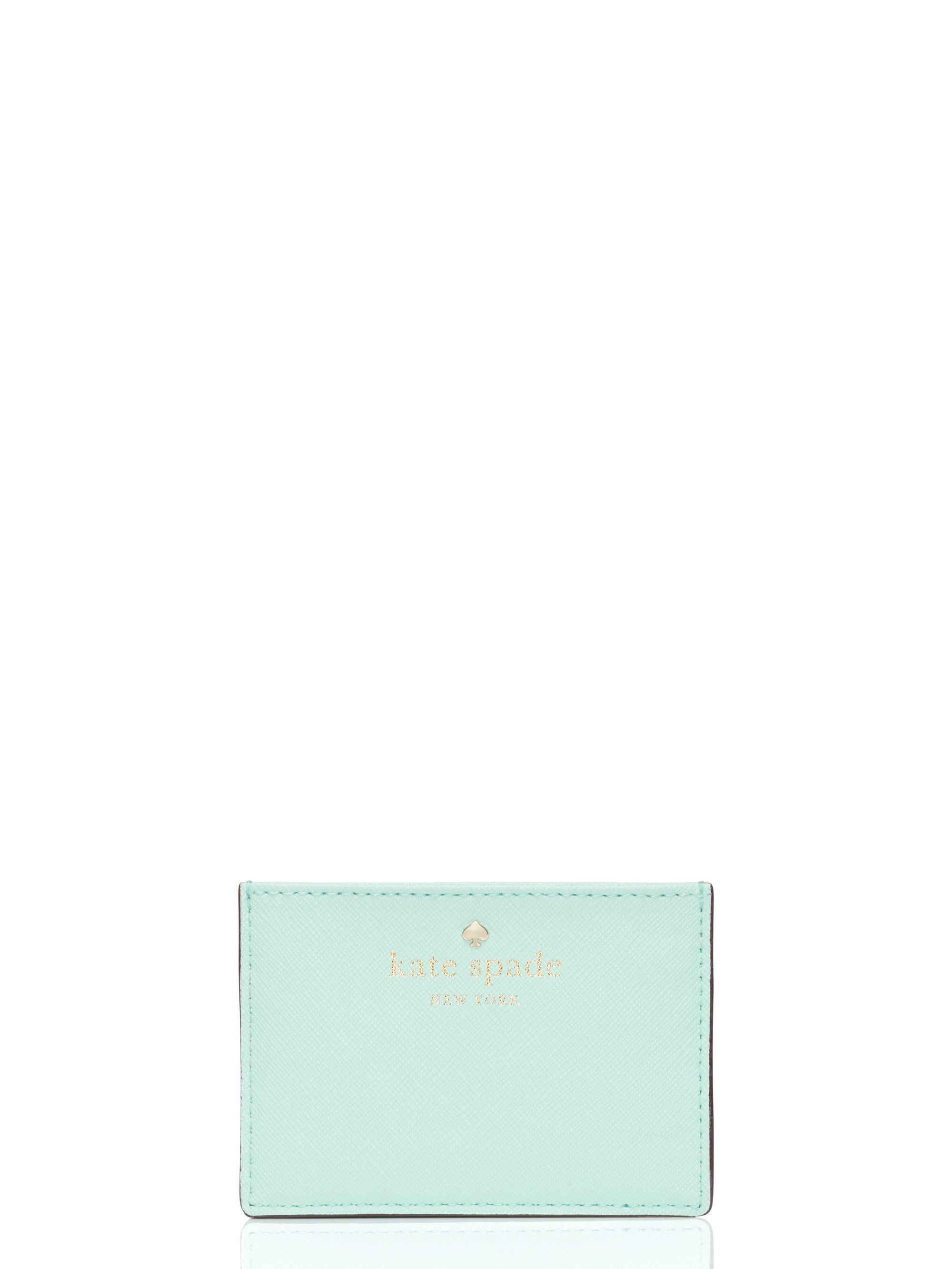 Lyst - Kate Spade New York Cedar Street Card Holder in Natural
