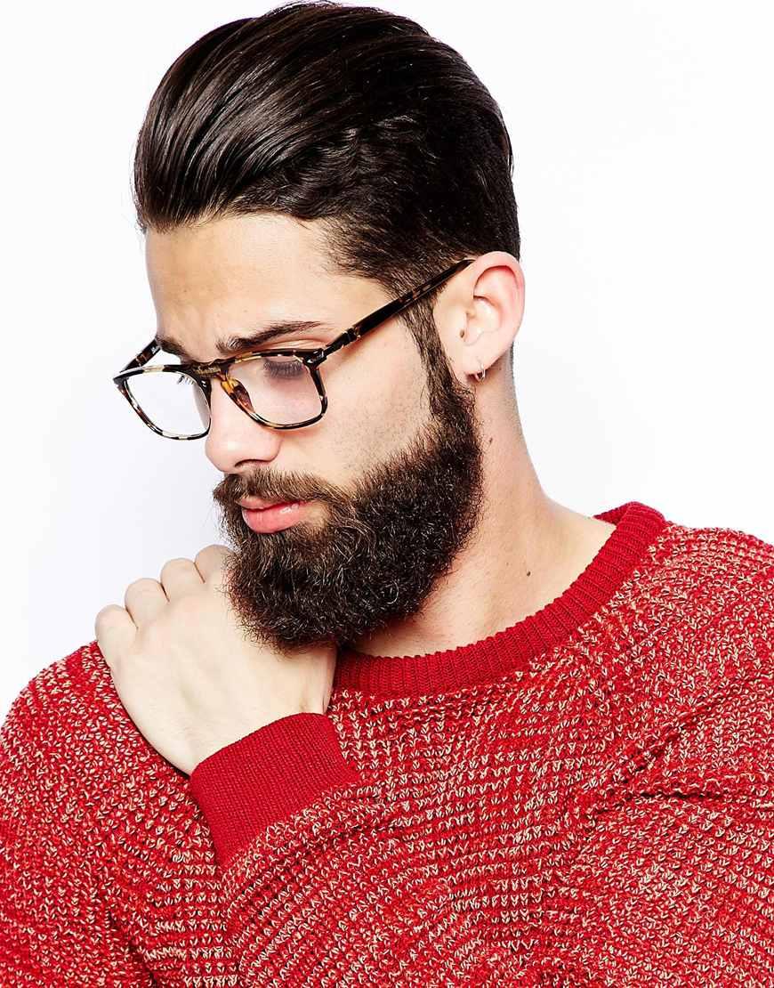 4857c32c31 Lyst - Persol Wayfarer Glasses in Brown for Men