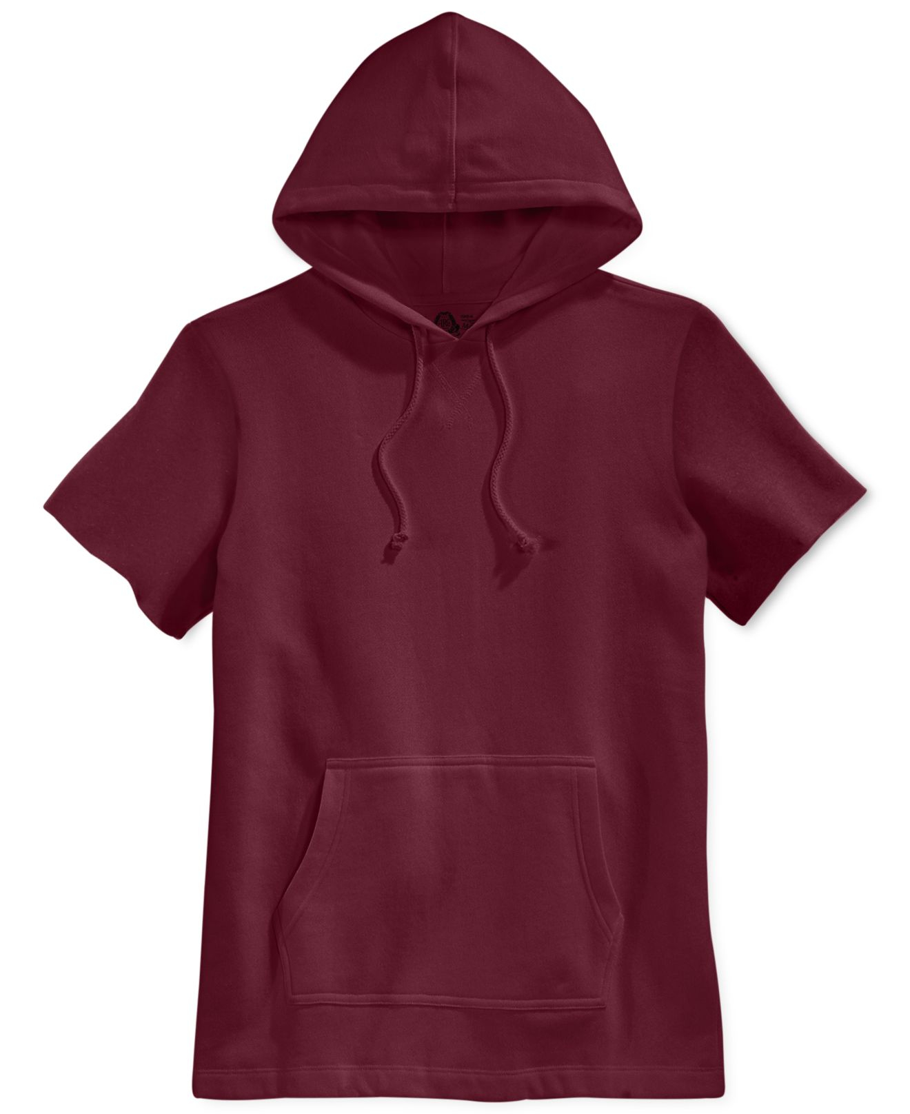 Short sleeve hoodie mens