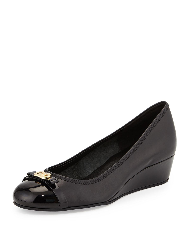 Cole Haan Black Cap Toe Shoes