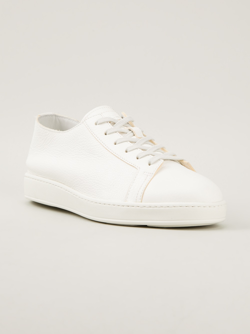 Sneakers off-white Santoni