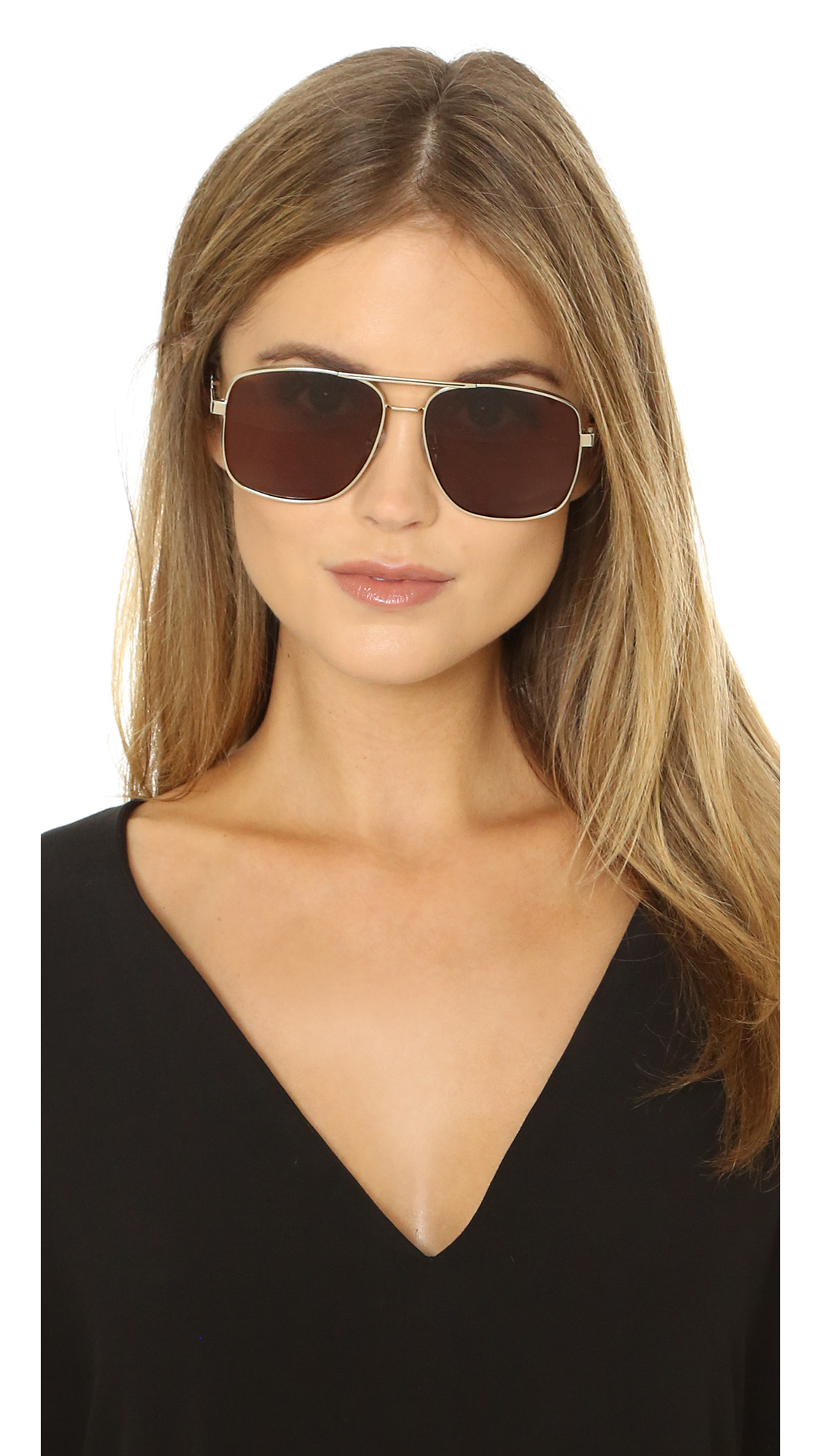 fde1b103faf Lyst - Pared Eyewear Uptown   Downtown Sunglasses in Metallic