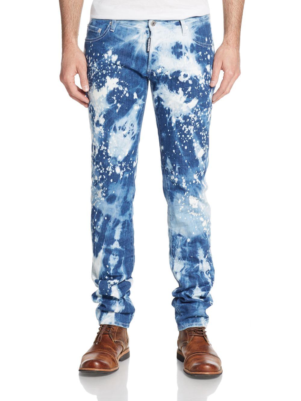 paint splash detail jeans - Blue Nine In The Morning hFJYKFzs