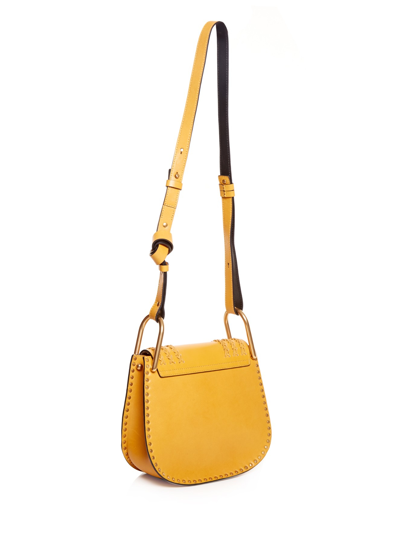 HUDSON BAG IN PERFORATED SMOOTH