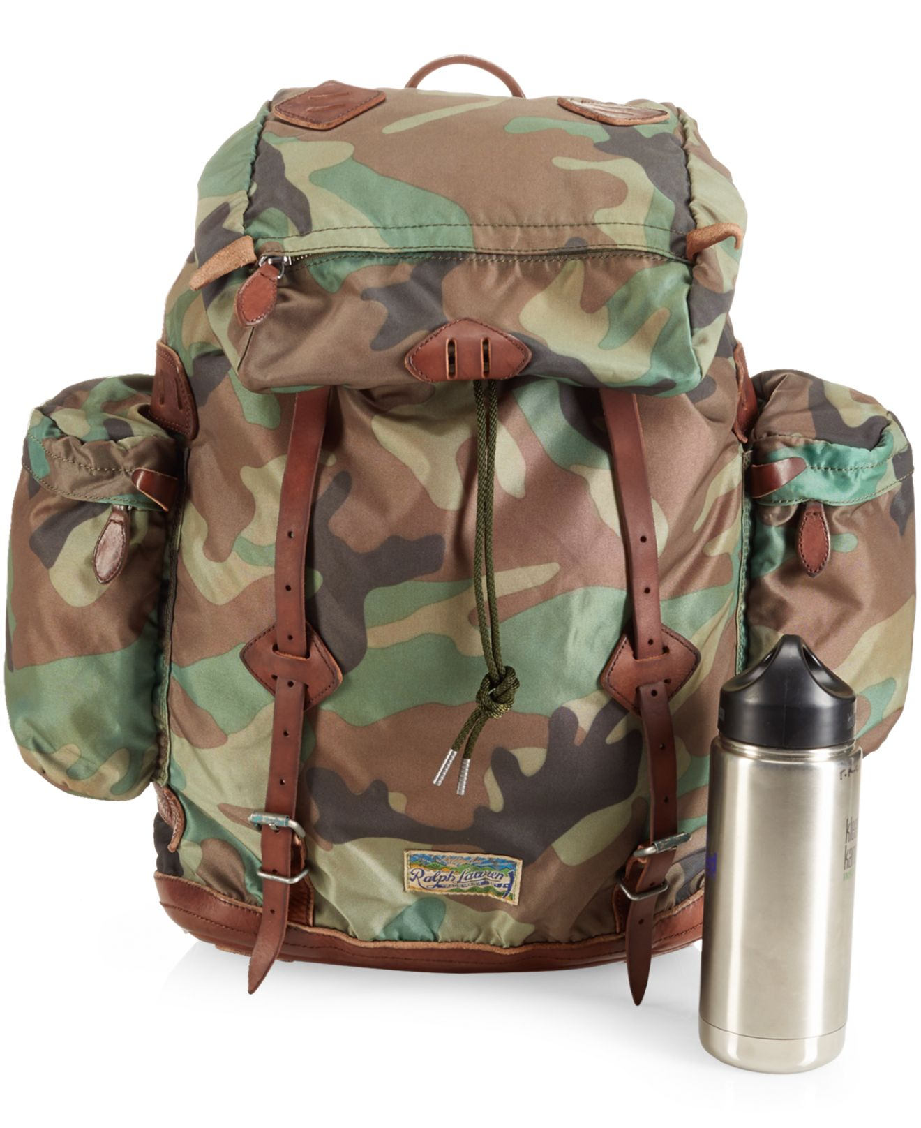 Lyst - Polo Ralph Lauren Yosemite Nylon Camo Backpack in Green for Men 4a3248fc2a3eb