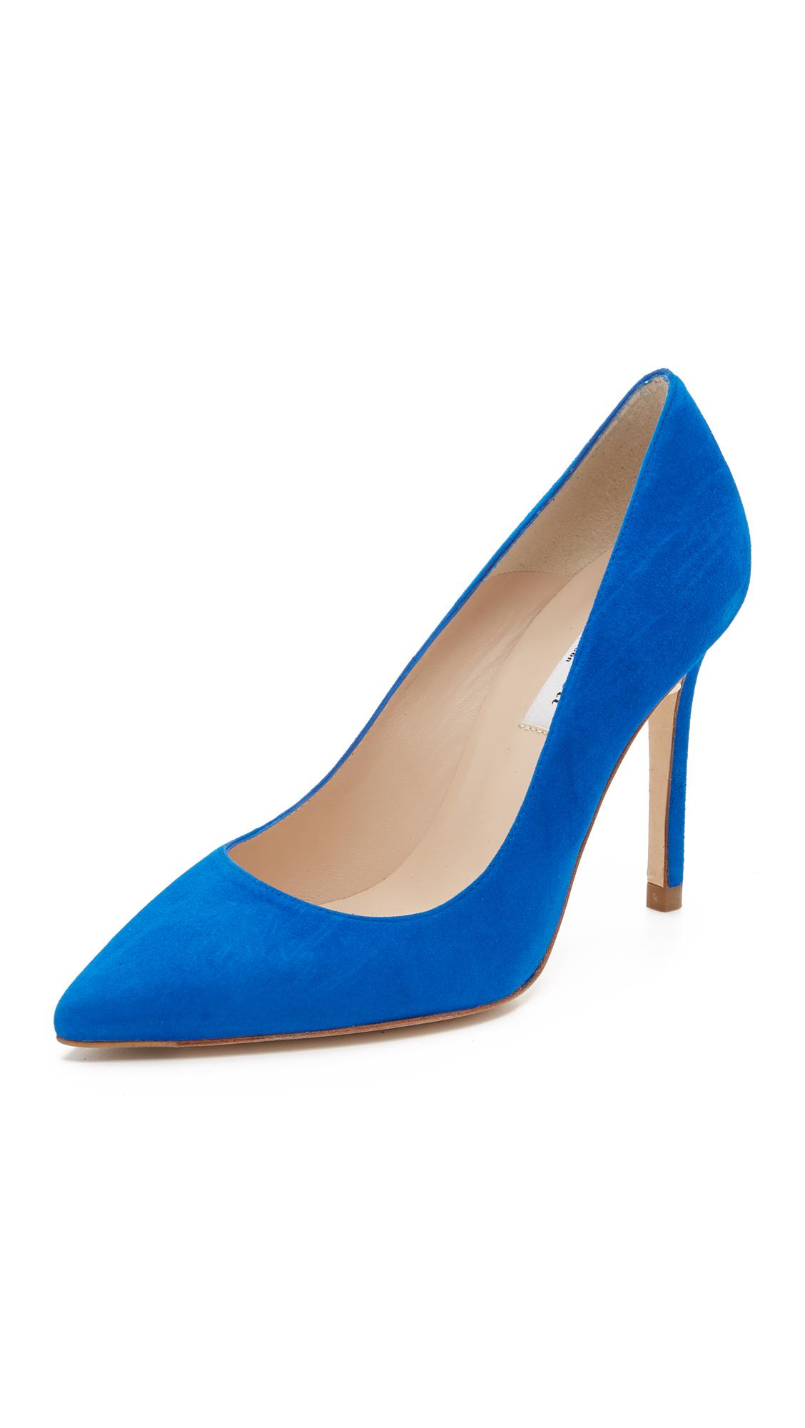f26dbc6a14bf Lyst - L.K.Bennett Fern Suede Pointy Toe Pumps in Blue
