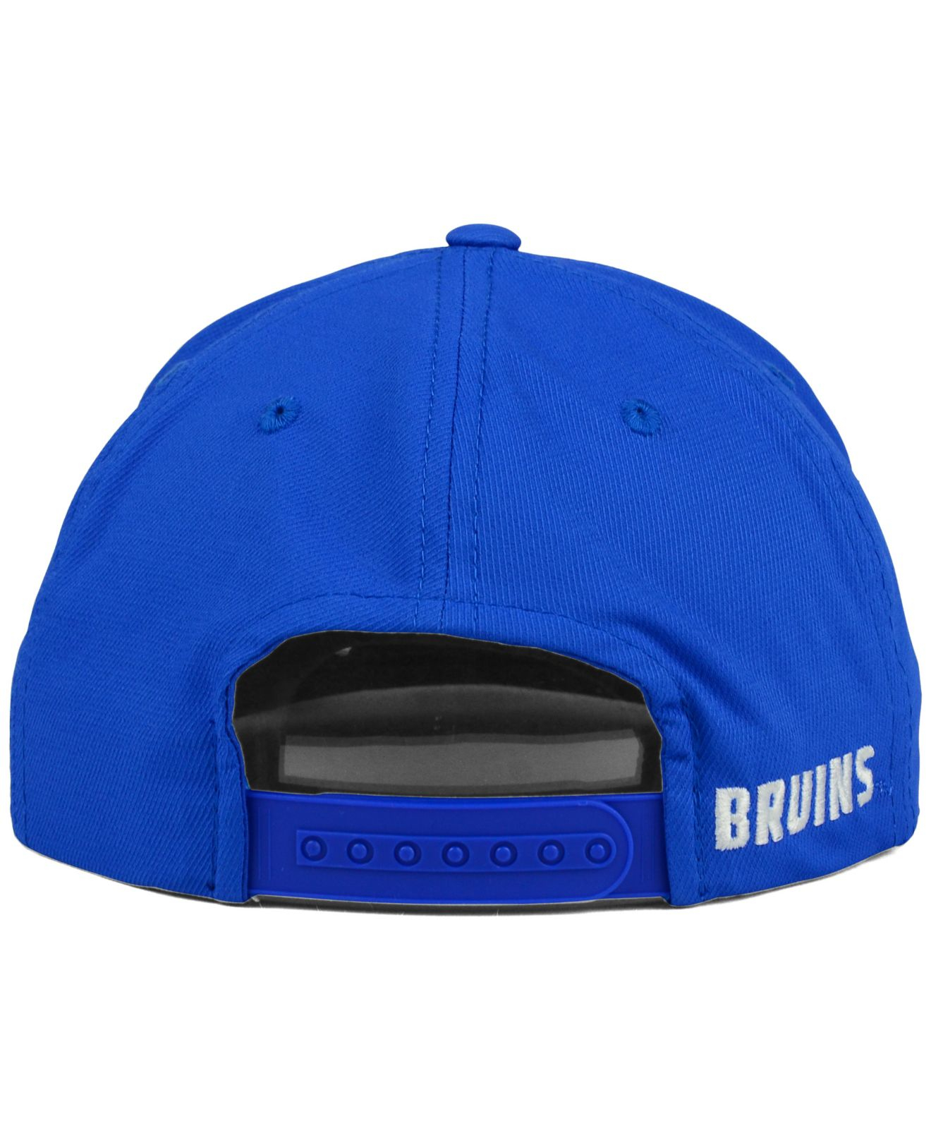 40505fa3487 Adidas originals Ucla Bruins Flat Brim Snapback Cap in Blue for Men