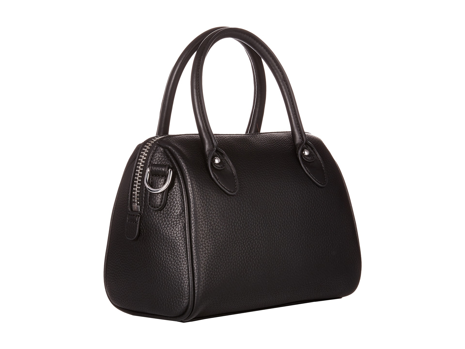 625b0d111300 Lyst - Armani Jeans Small Boston Bag With Tassle Detail in Black