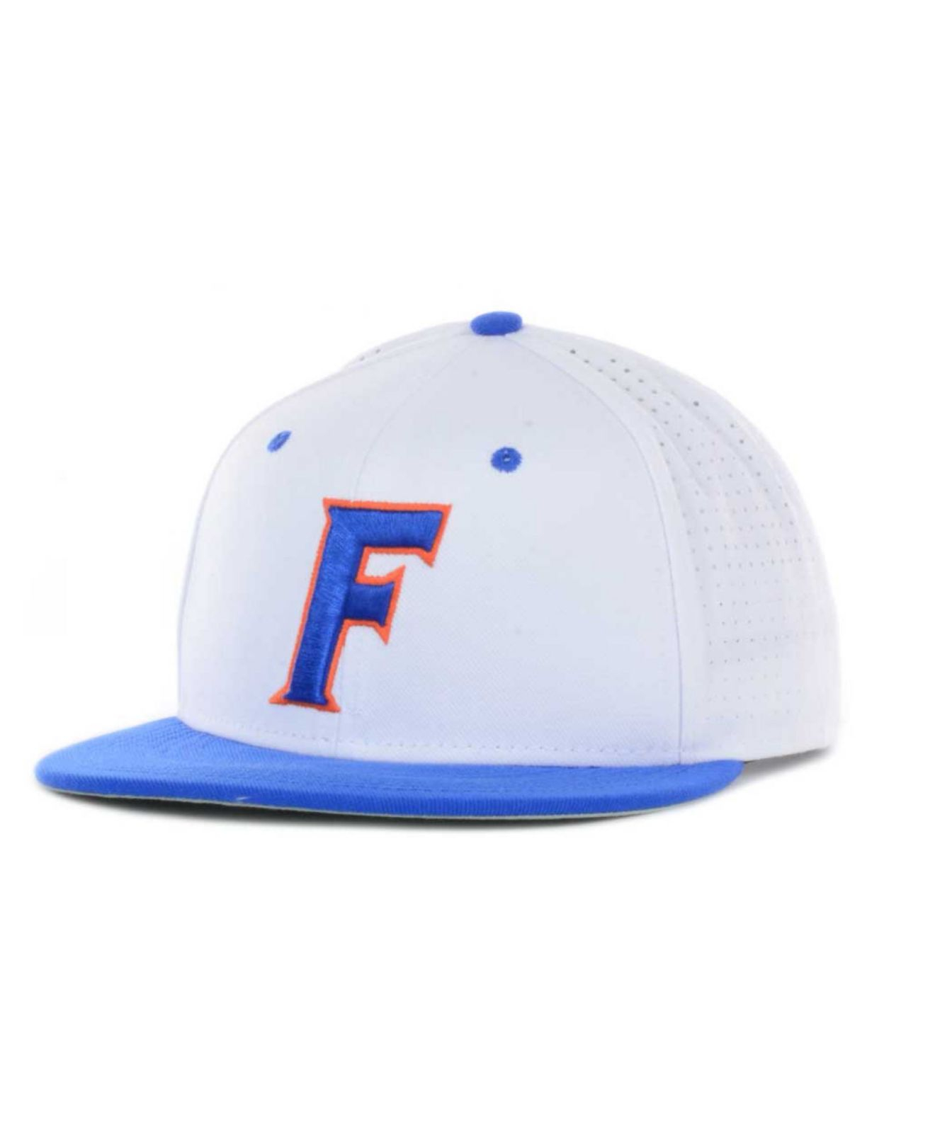 info for d46cb d2605 ... closeout lyst nike florida gators authentic vapor fitted cap in white  for men 23594 7fd5f