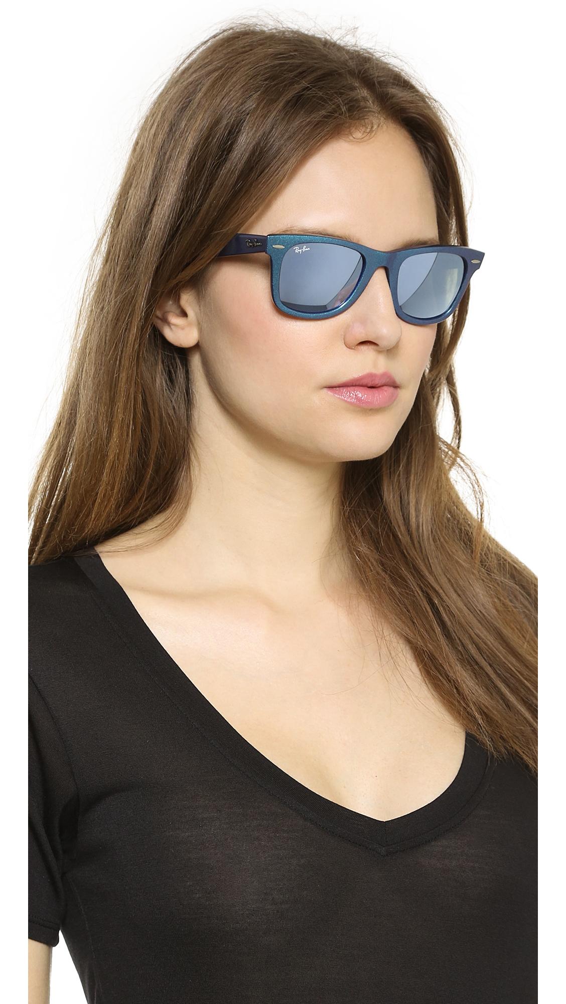 daf262360f7 Ray-Ban Cosmo Saturn Sunglasses - Metallic Pink in Blue - Lyst