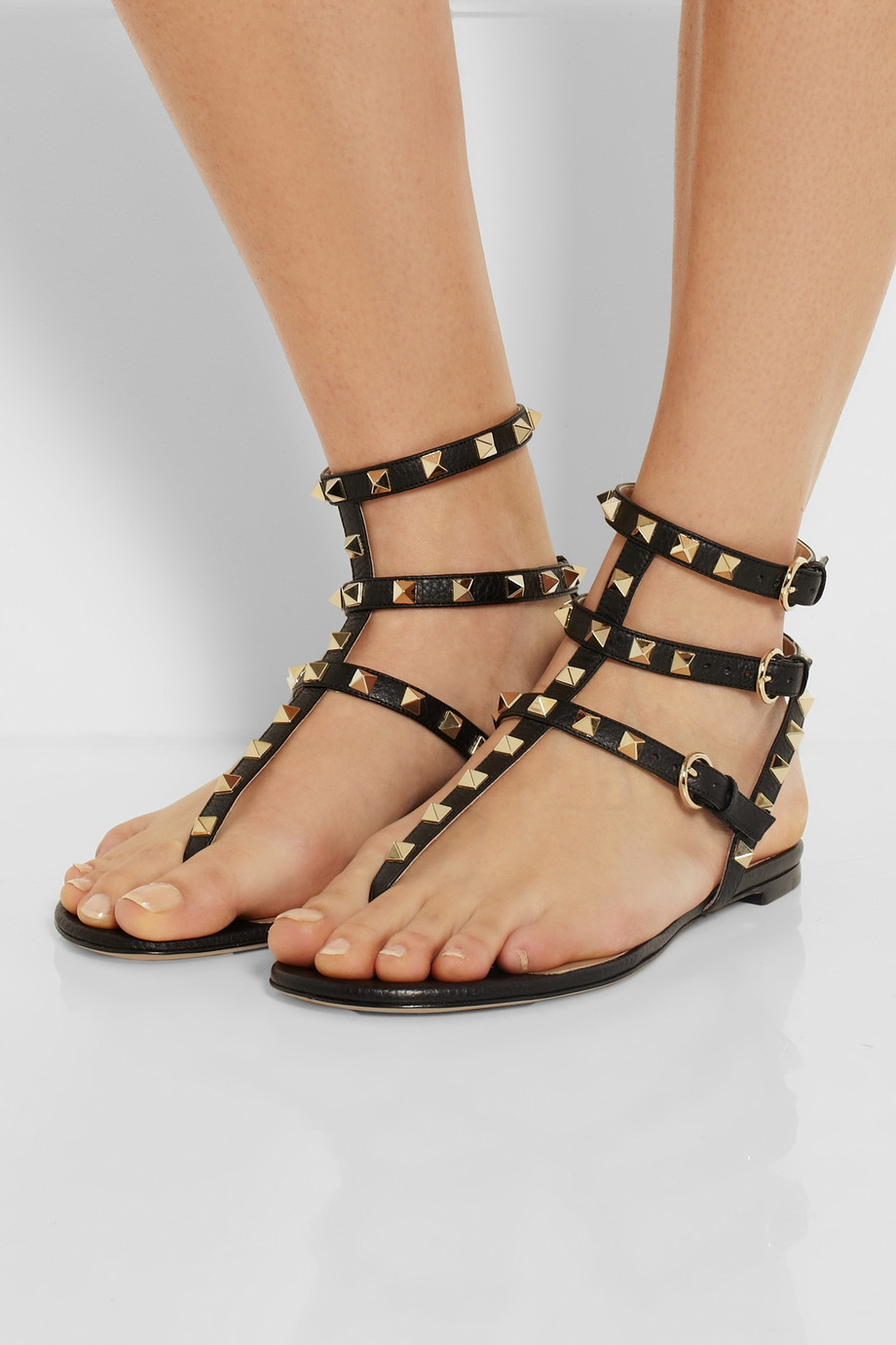 a7a8ab5eac97 valentino studded flip flops