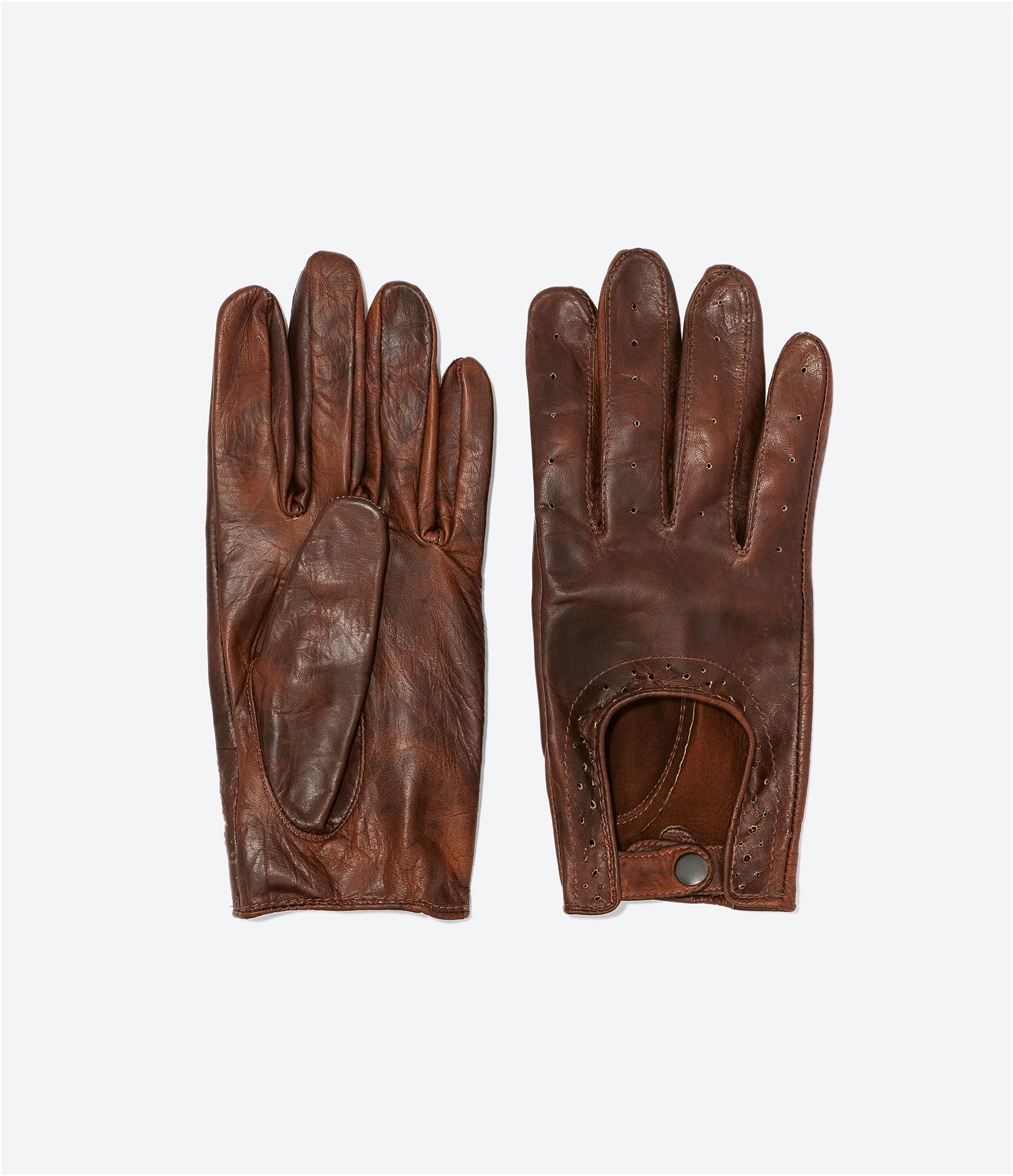 Mens leather driving gloves australia - Driving Gloves Coach Coach Mens Driving Gloves Gloves