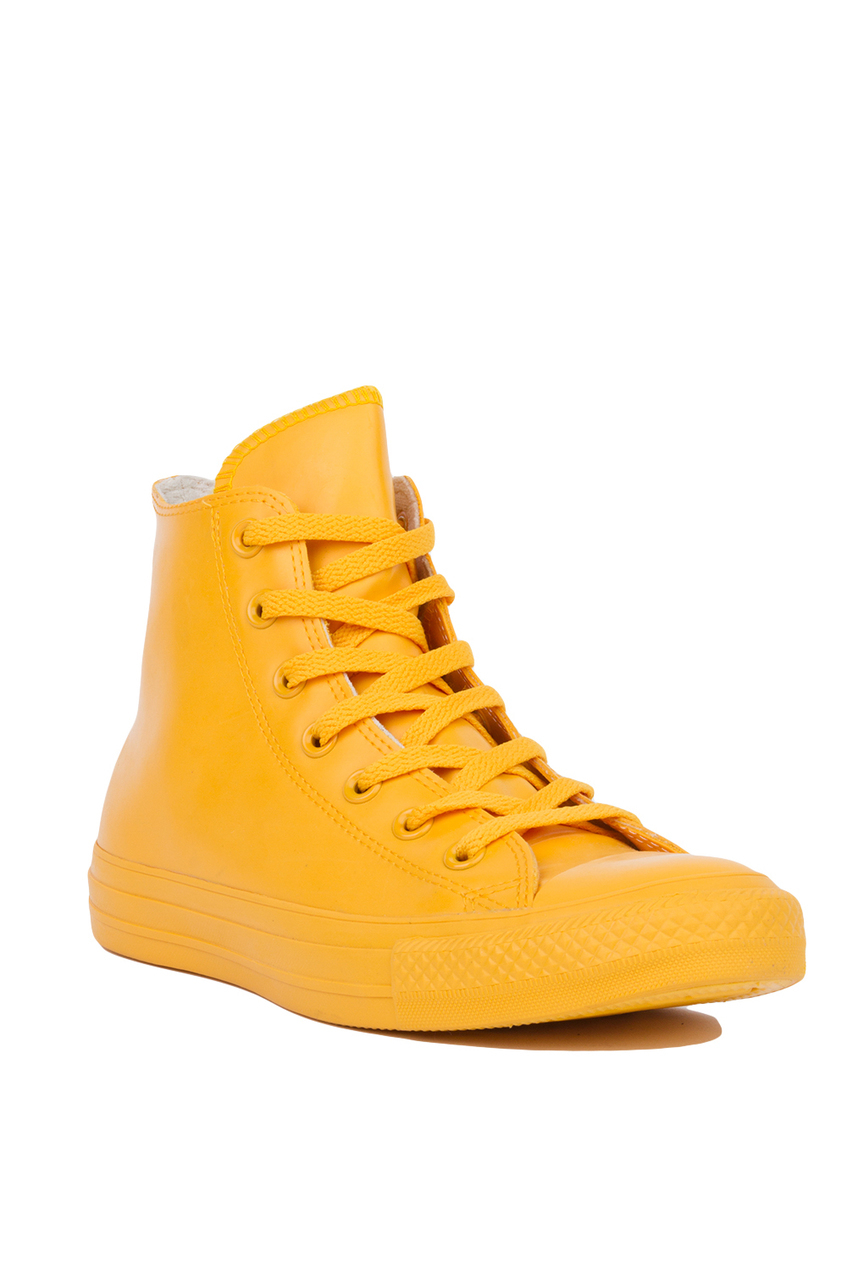 99a5d9373452 Lyst - Converse Chuck Taylor All Star Rubber Hi-top Sneakers - Wild ...
