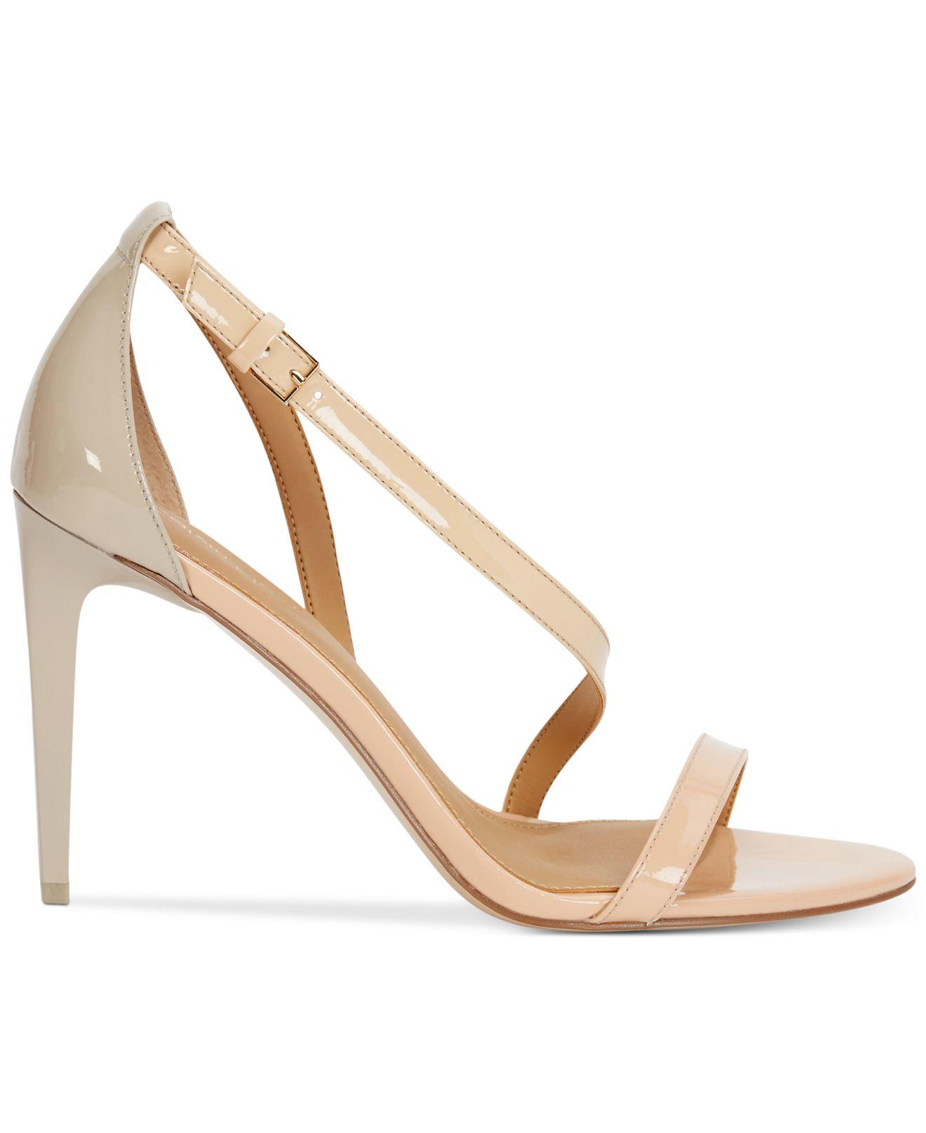 820396ce72e Lyst - Calvin Klein Women s Narella Colorblocked Dress Sandals in ...