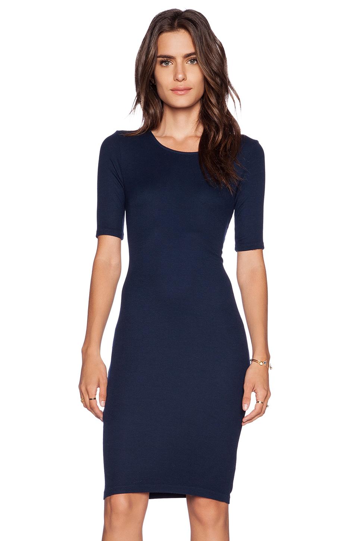 Splendid T Shirt Dress in Blue | Lyst