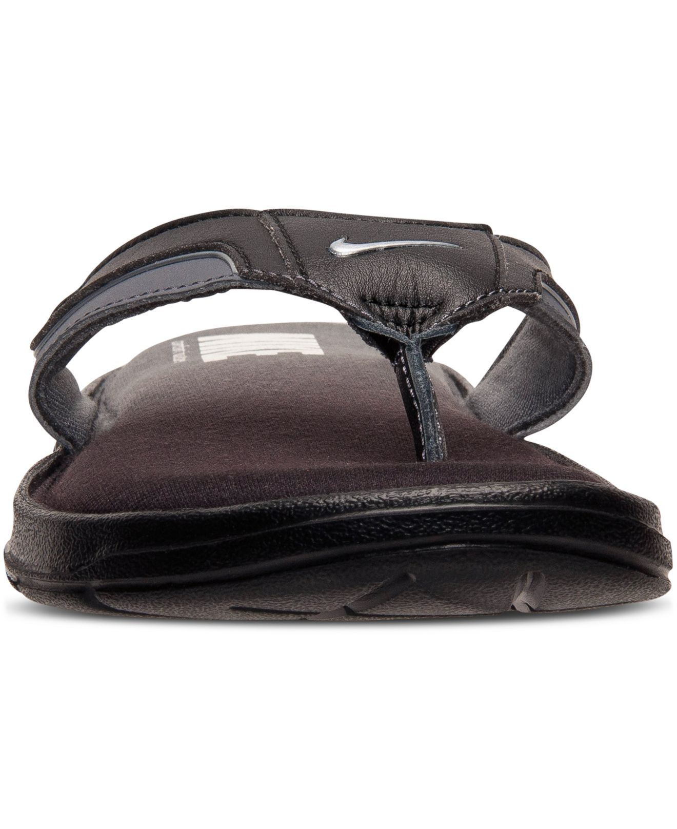 6d6289f4c2cc ... sale lyst nike mens solarsoft comfort thong sandals from finish line  18ee1 571aa ...