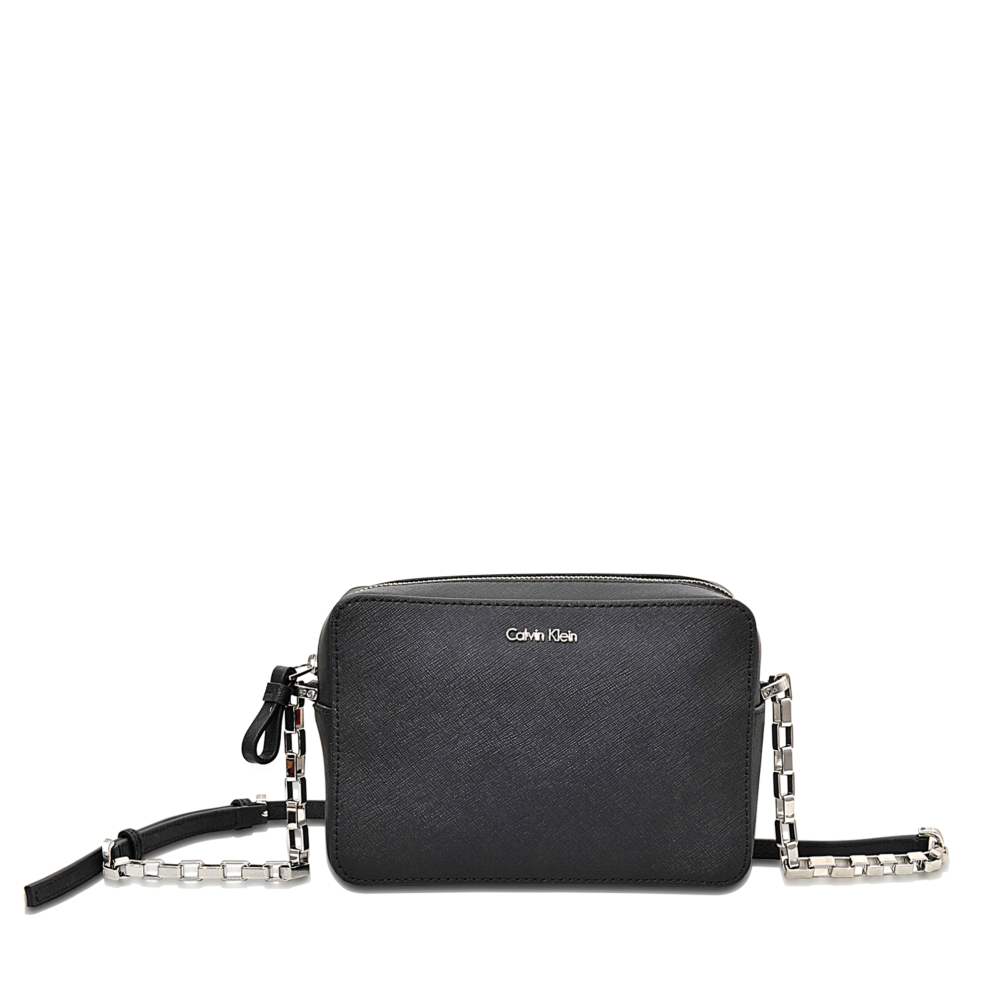 3d5d8ea3ecc1 Calvin Klein Sofie Mini Crossbody Bag in Black - Lyst