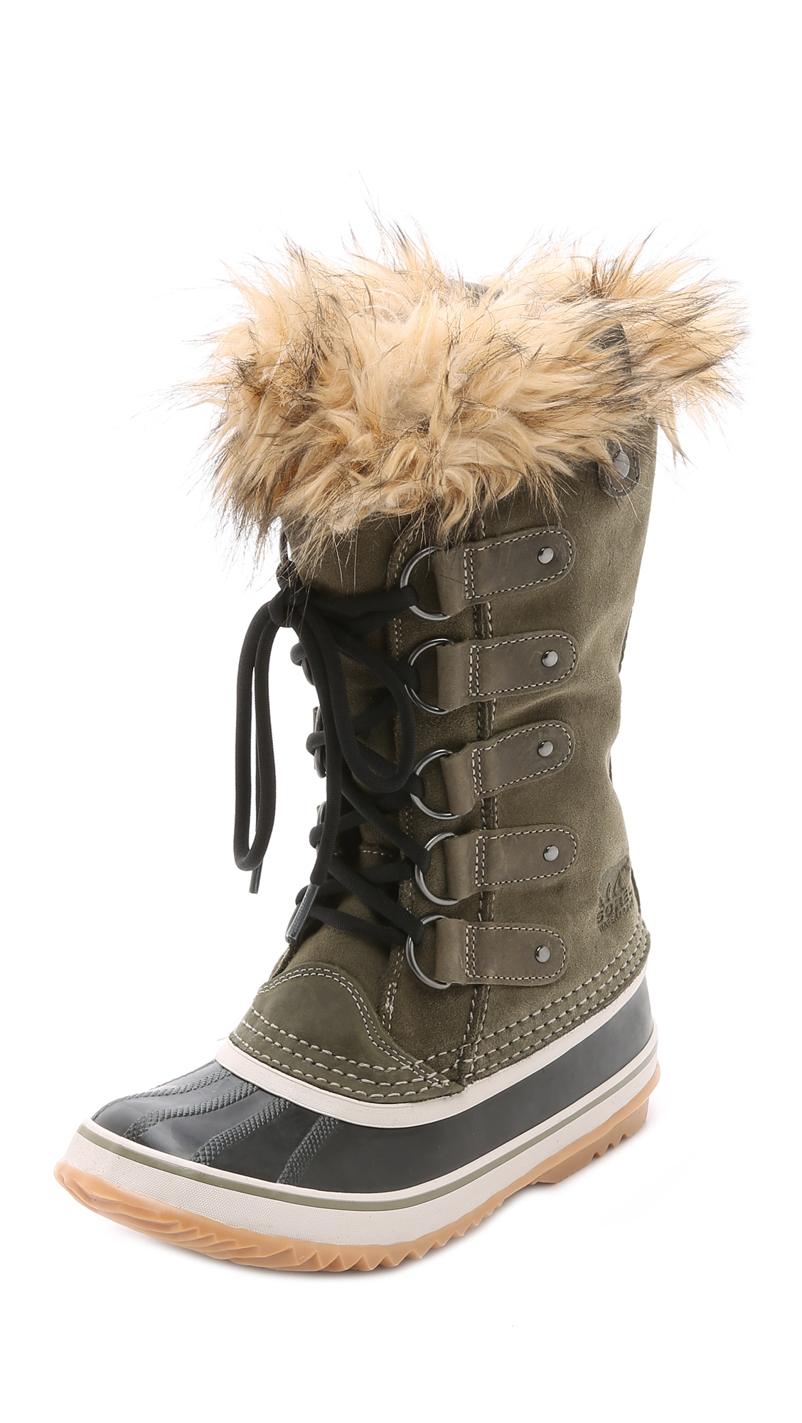 Lyst Sorel Joan Of Arctic Boots In Brown