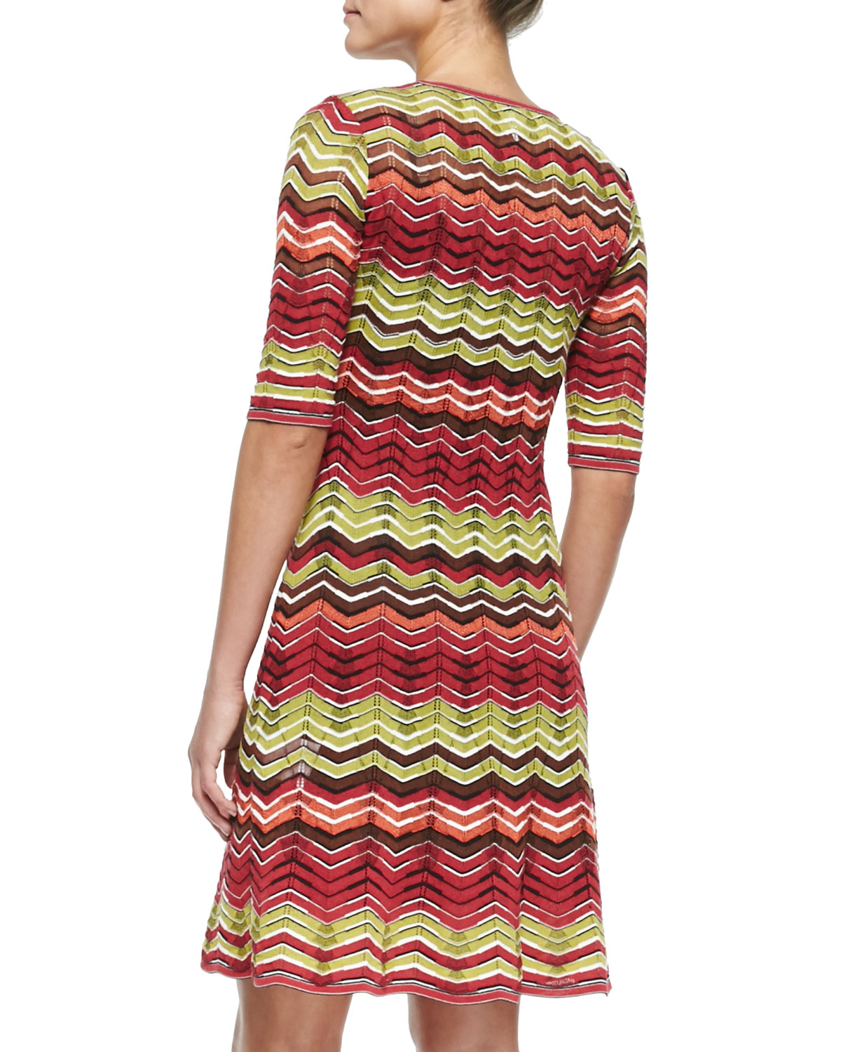 Reliable For Sale Clearance For Sale zig-zag knitted dress - Multicolour Missoni MvWeoU1LY