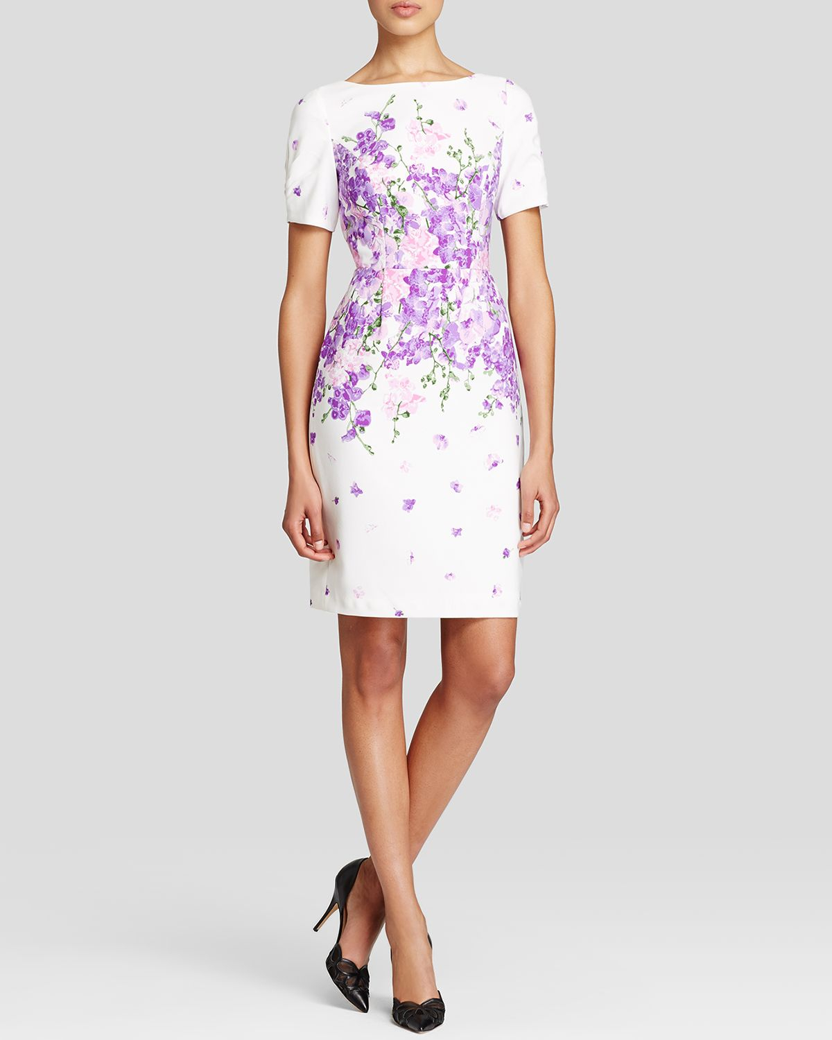6455bb4ddc8 Gallery. Previously sold at  Bloomingdale s · Women s Party Dresses Women s Adrianna  Papell Sheath ...
