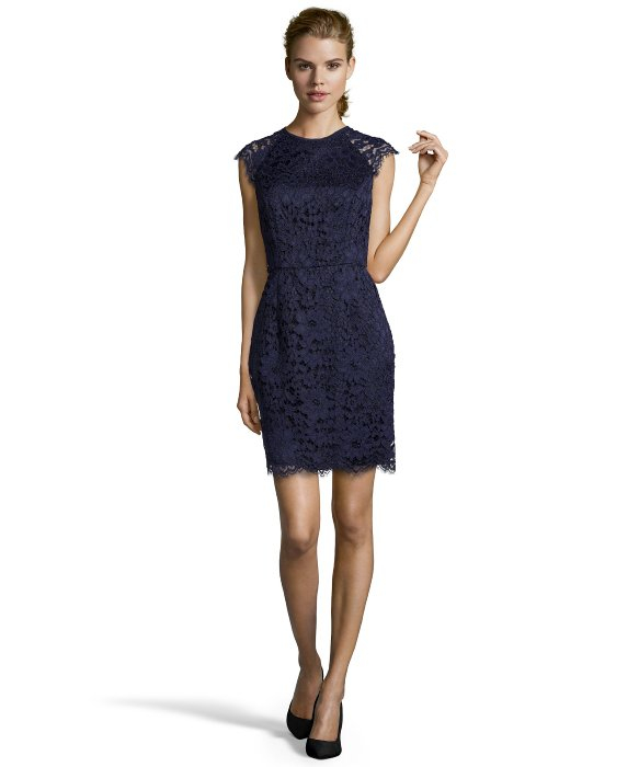 Indigo Lace Dresses