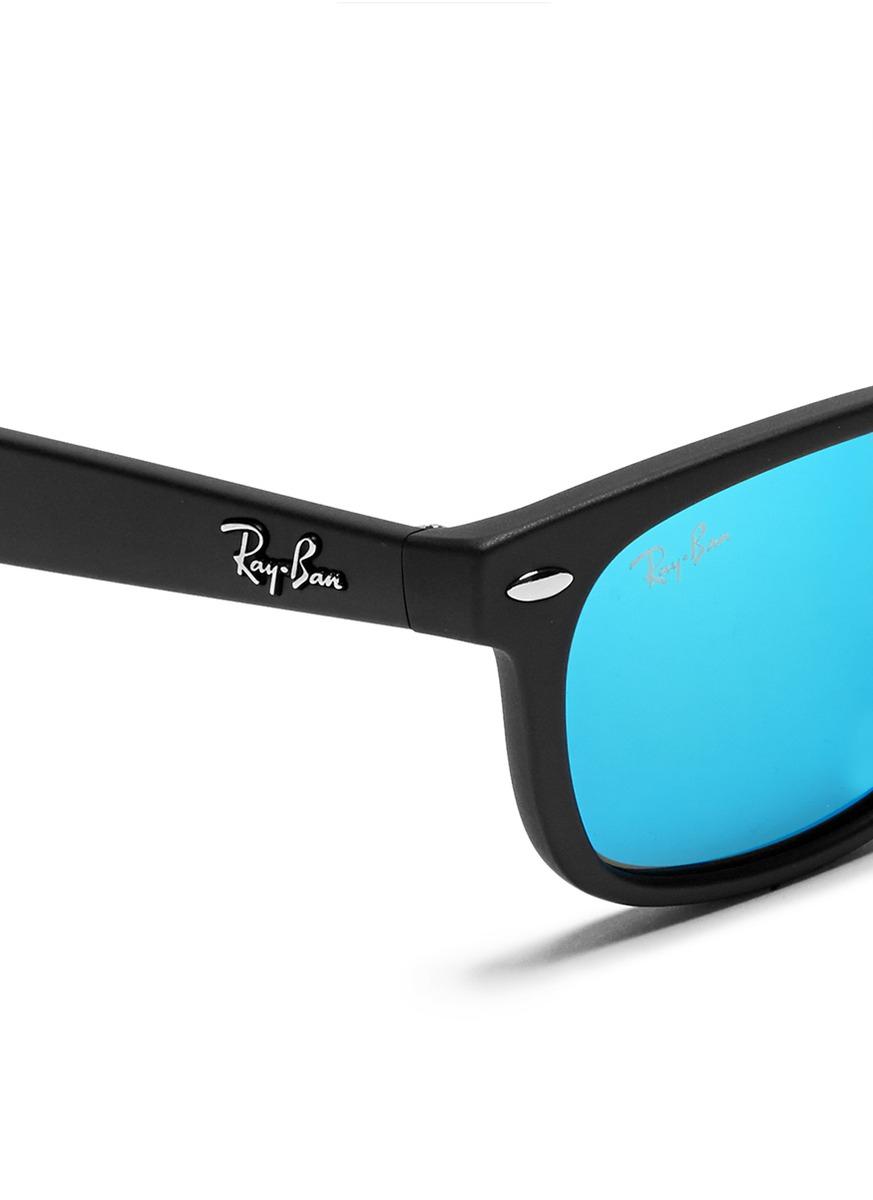 0efada5237 Ray Ban Junior New Wayfarer Sunglasses Torque blue
