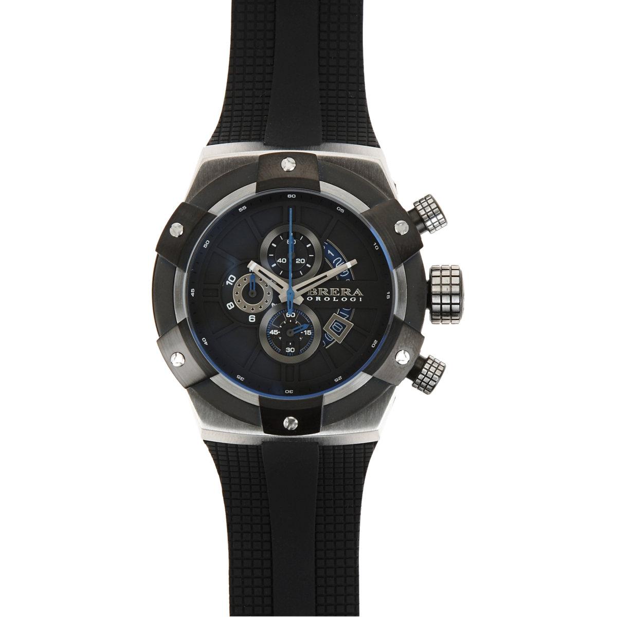 brera orologi s supersportivo in black for
