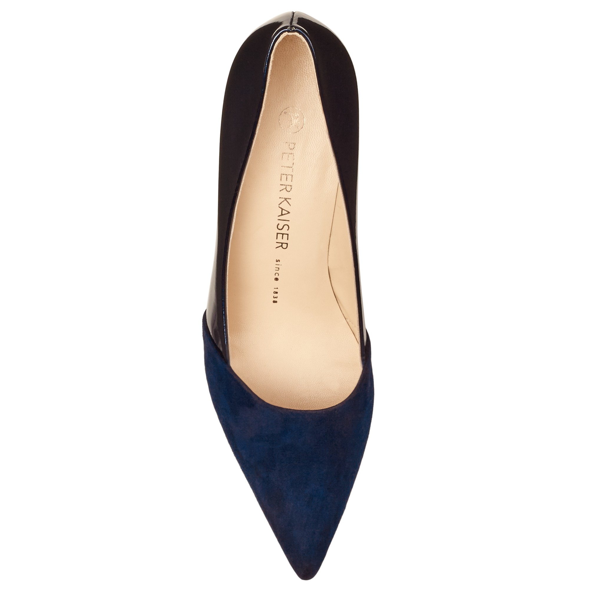 cb86391b786 Peter Kaiser Semitara Mid Heeled Stiletto Court Shoes in Blue - Lyst
