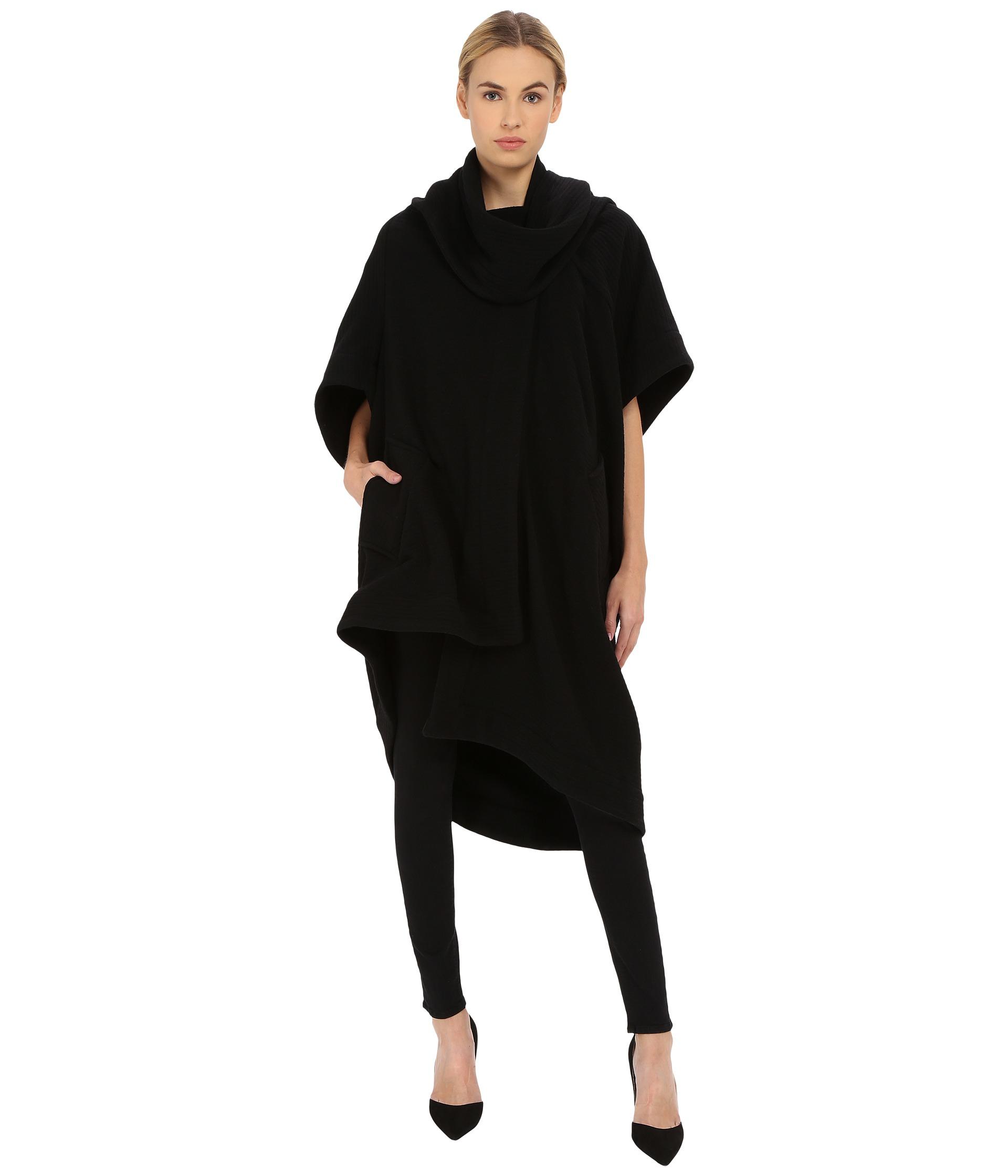 Vivienne westwood Short Sleeve Blanket Coat in Black | Lyst