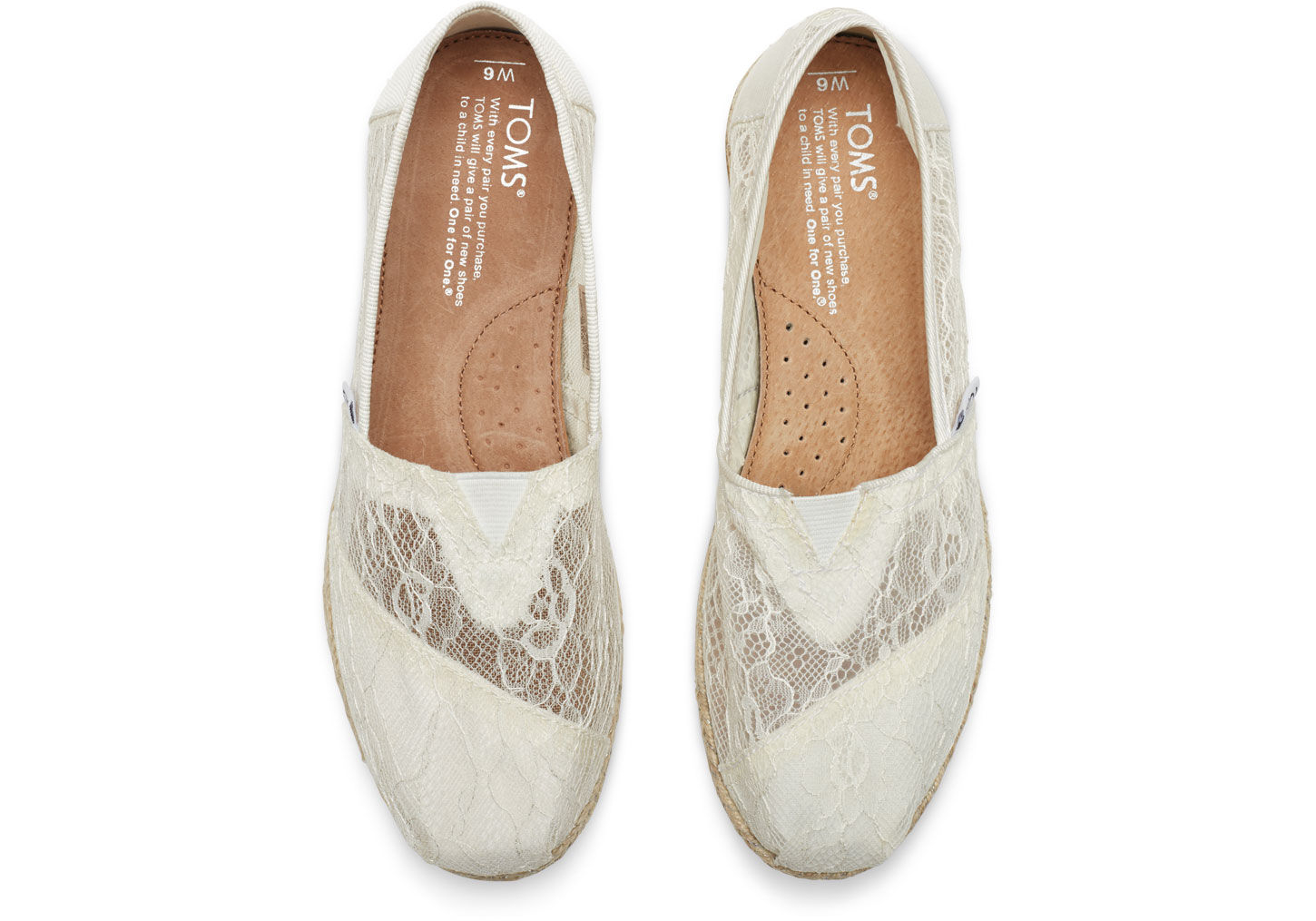 TOMS White Lace Rope Women s Classics in White - Lyst d516e2dbc