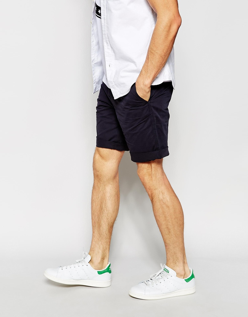 Esprit Chino Shorts in Blue for Men | Lyst