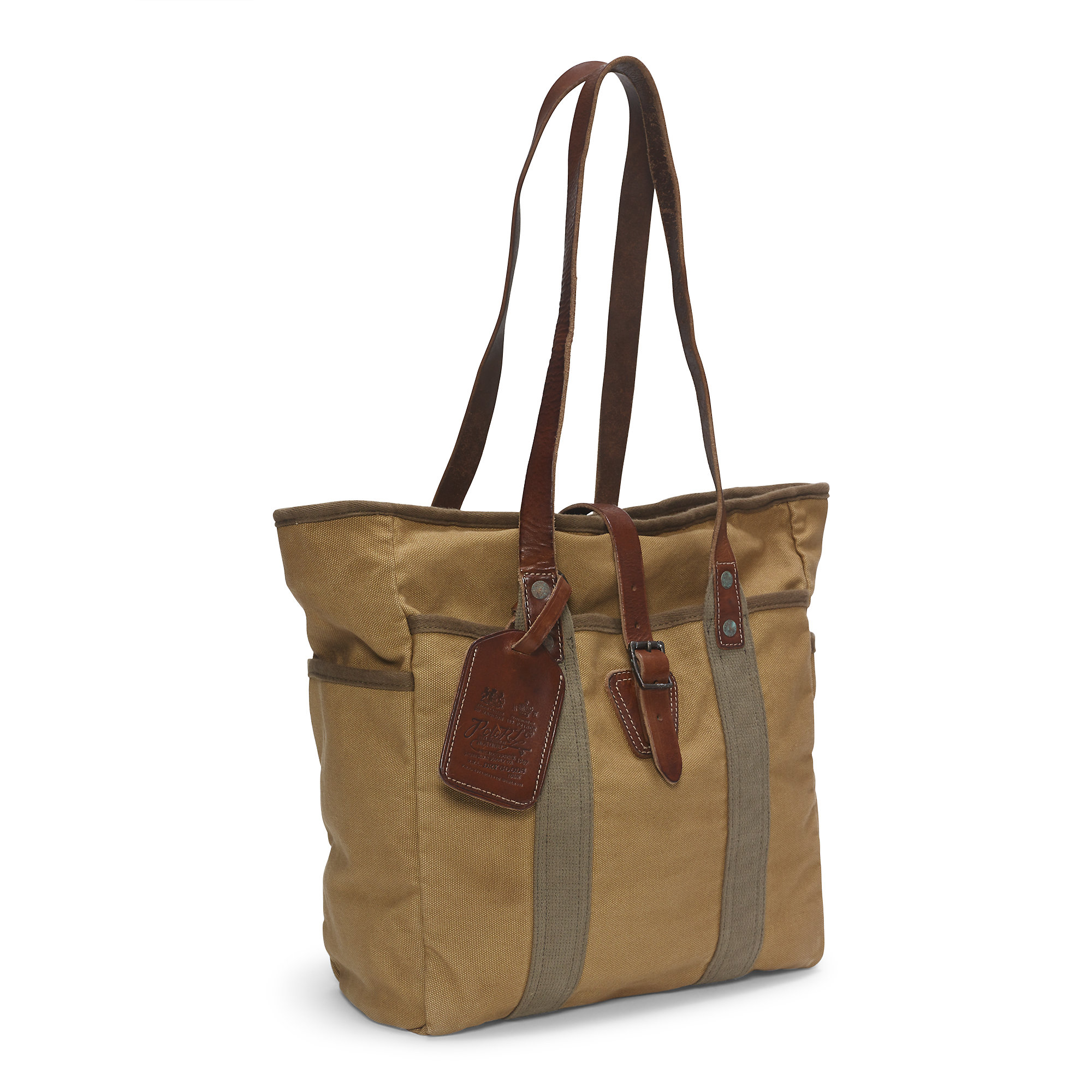 Lyst - Polo Ralph Lauren Adirondack Canvas Tote in Natural for Men ac0b895ac8ce9