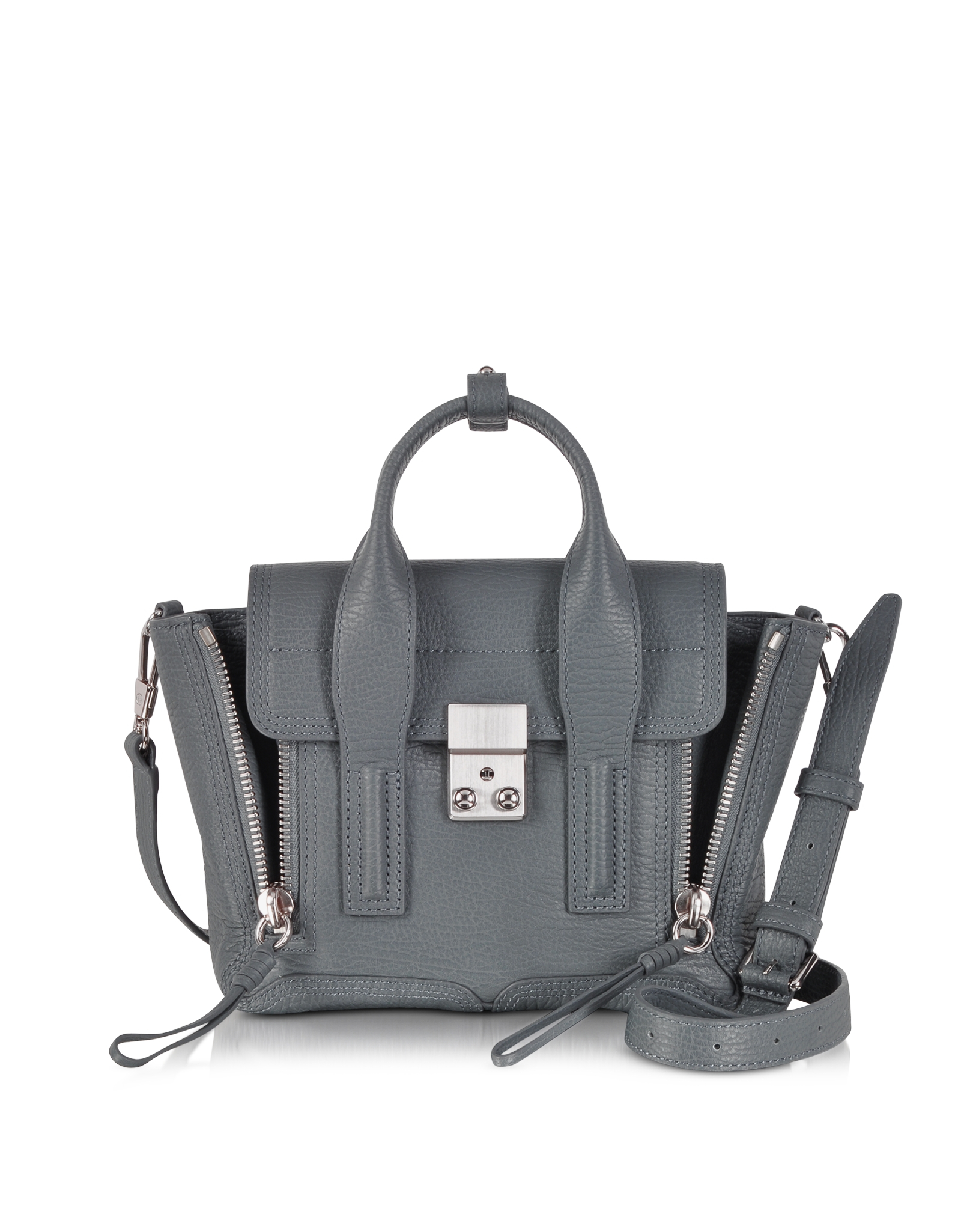 3.1 Phillip Lim Woman Mini Floral-print Patent-leather Shoulder Bag Black Size 3.1 Phillip Lim Good Selling Outlet Cheapest Price Perfect Online Outlet Low Price Fee Shipping CwUpLi