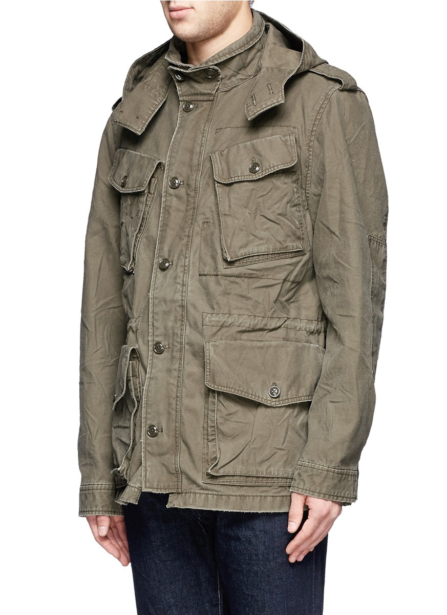 J.crew Garrison Fatigue Jacket in Green for Men | Lyst