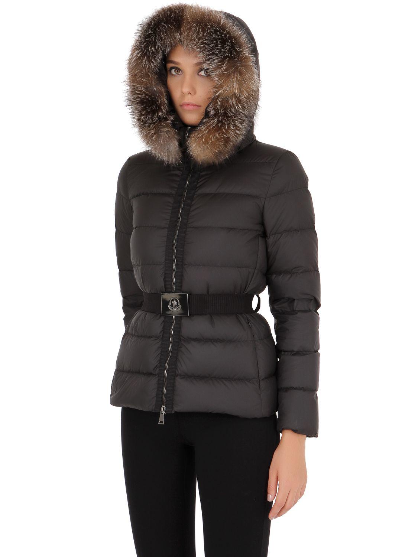 Moncler fabrette jacket black