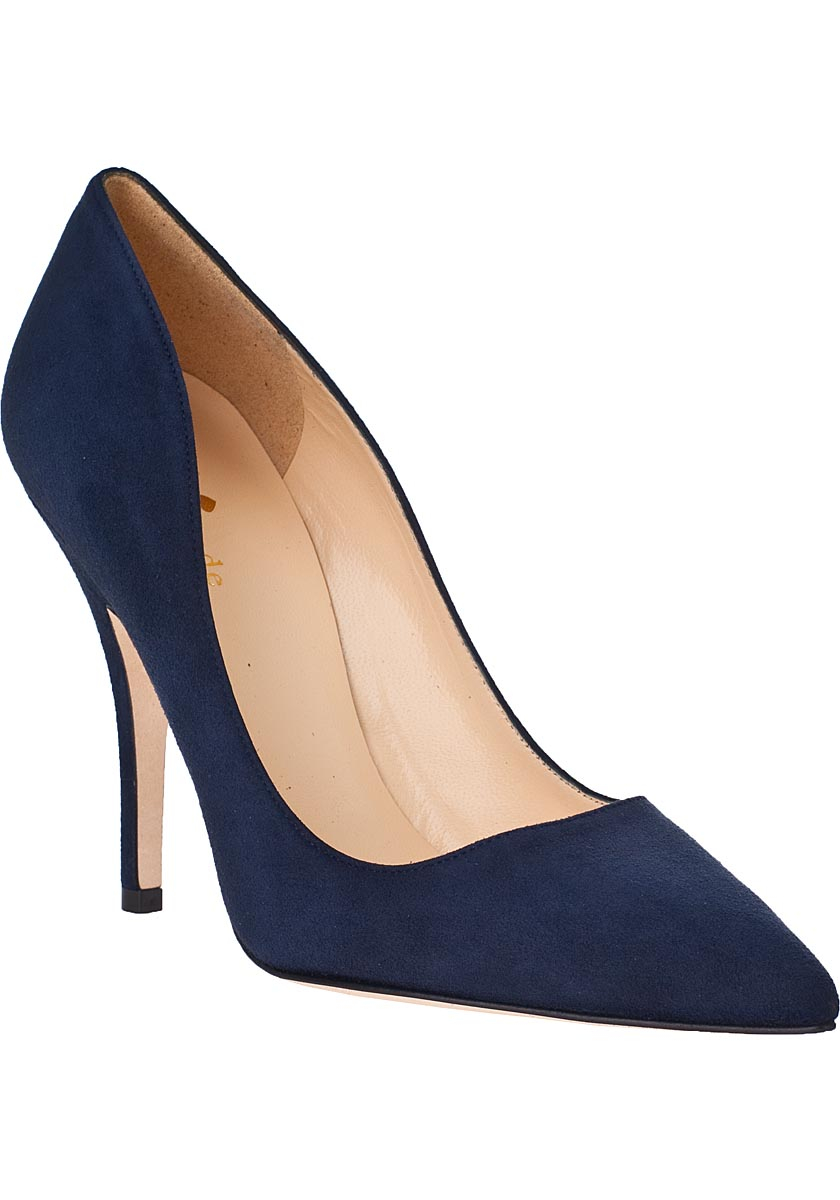 Navy Blue Shoes And Bag