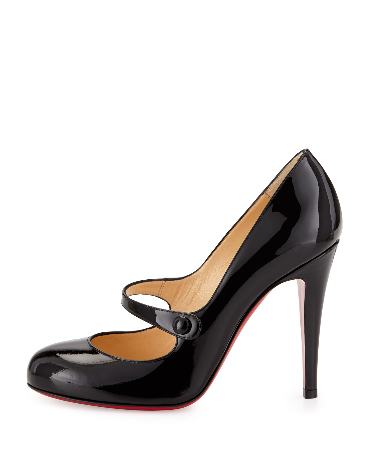 christian louboutin charlene mary jane red sole pump