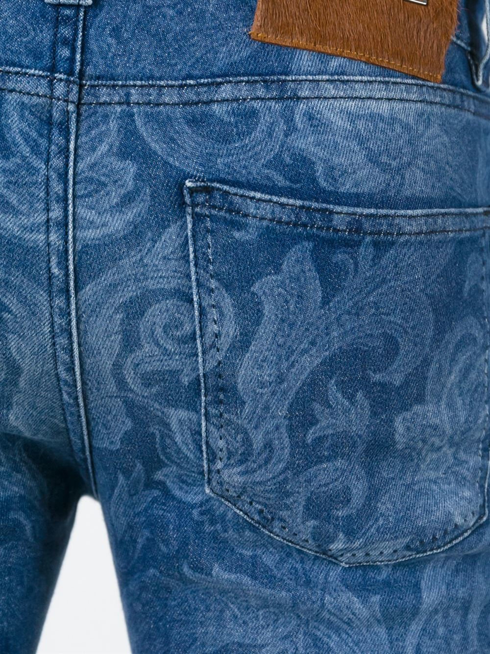 Lyst Etro Paisley Jeans In Blue For Men