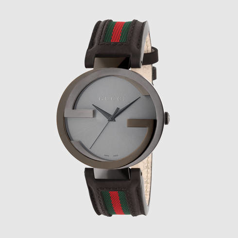 eb85ca68404 Lyst - Gucci Interlocking