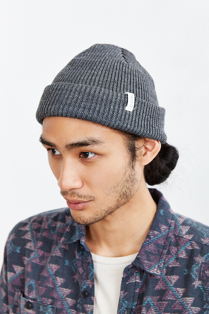 3881df7e84bd4 Coal The Frena Solid Beanie in Gray for Men - Lyst