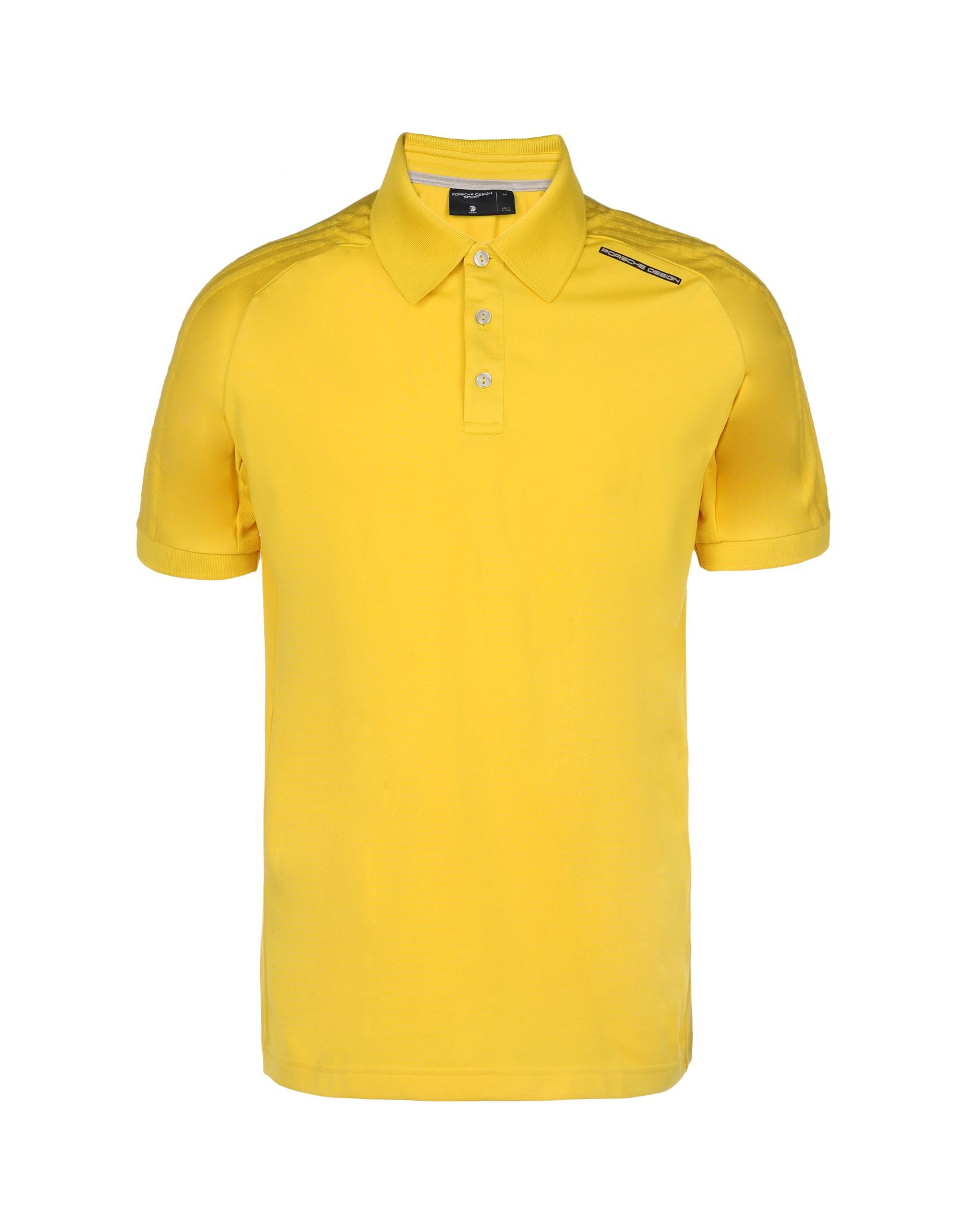 Porsche Design Sport By Adidas Polo Shirt In Yellow For