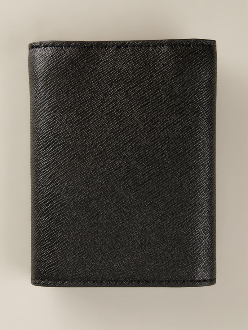 Lyst Michael Kors Jet Set Wallet In Black For Men