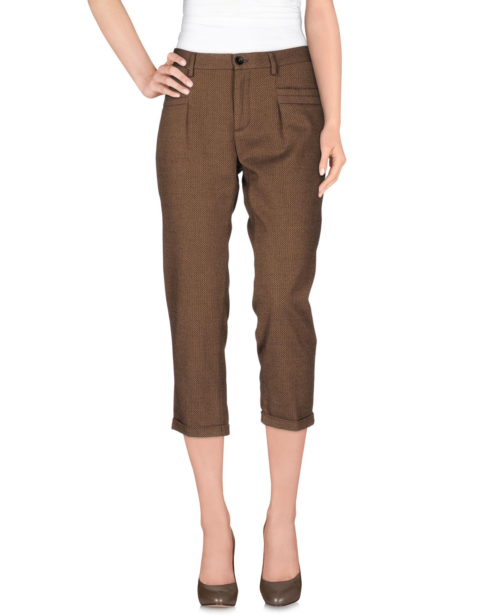 Simple Alysi Casual Trouser In Brown Khaki  Lyst