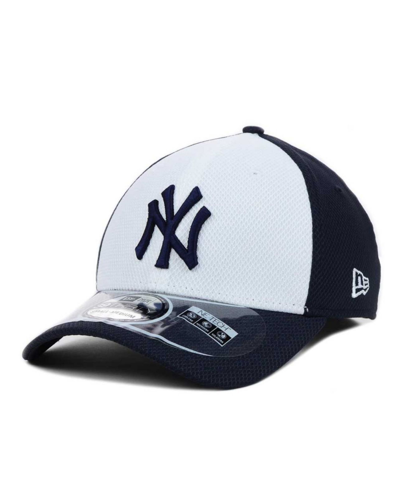 b3febd7c5df Lyst - KTZ New York Yankees Diamond Era 39thirty Cap in Blue for Men