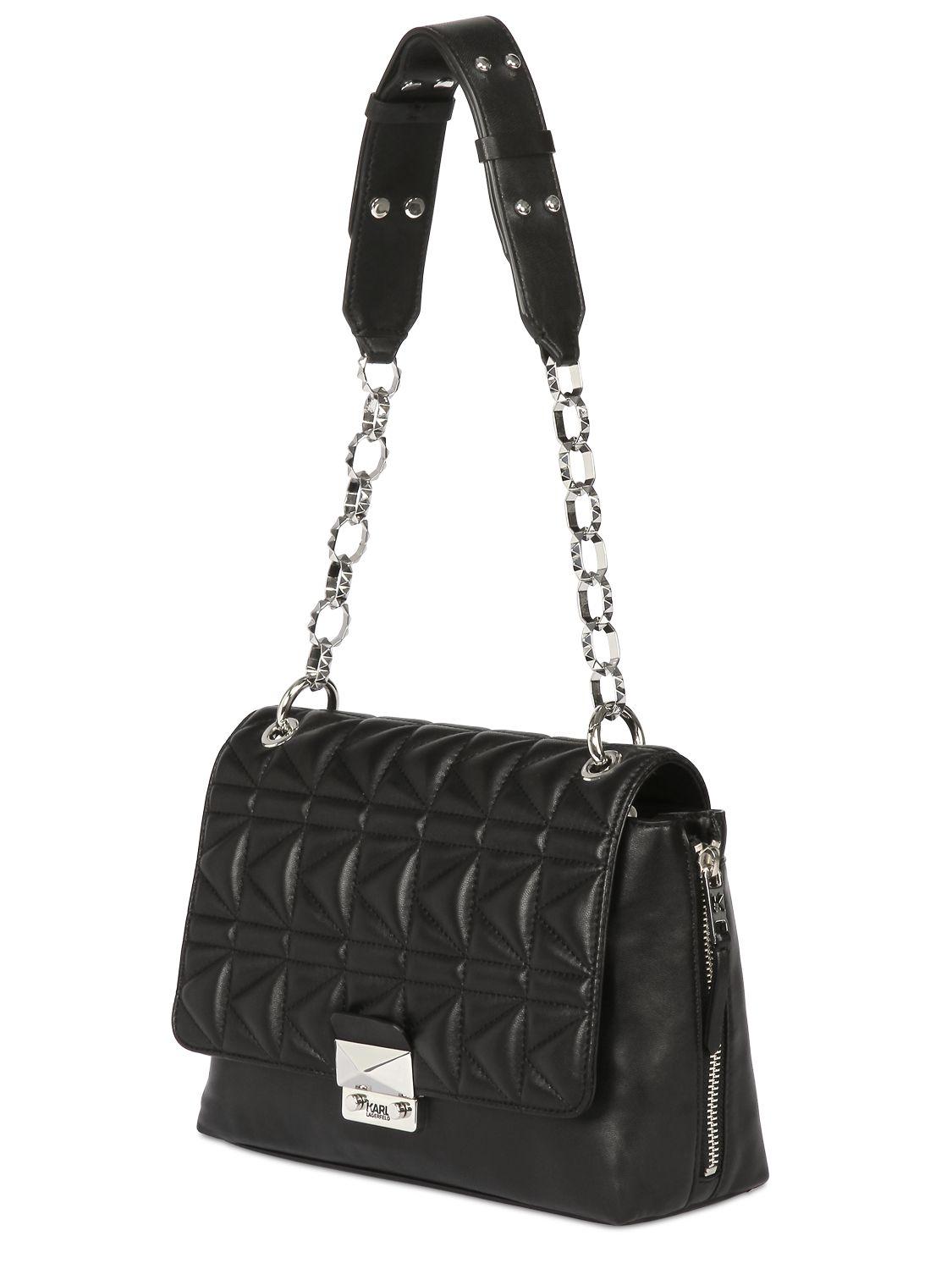 K/Kuilted Studs small shoulder bag - Black Karl Lagerfeld vSdsCSKk