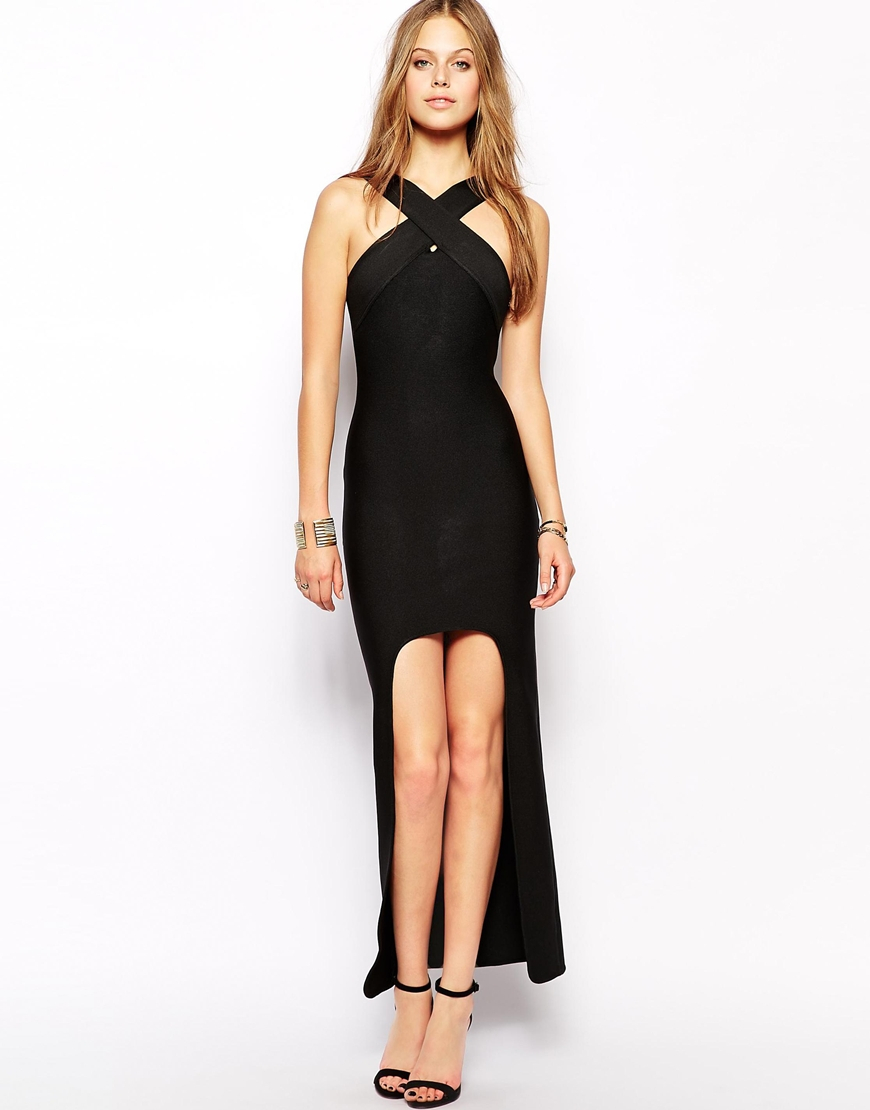 Lyst Supertrash Domina Maxi Dress With Front Wrap Detail
