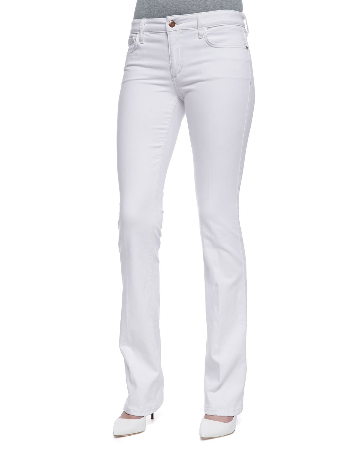 Why not pick a pair of boyfriend jeans and add a crisp, white Tee with sneakers for an afternoon at the park. Whatever your look, JCPenney has an affordable, modern option for every woman. Casual Boyfriend Jeans. Wherever you wear bootcut jeans, JCPenney has the right option for you.