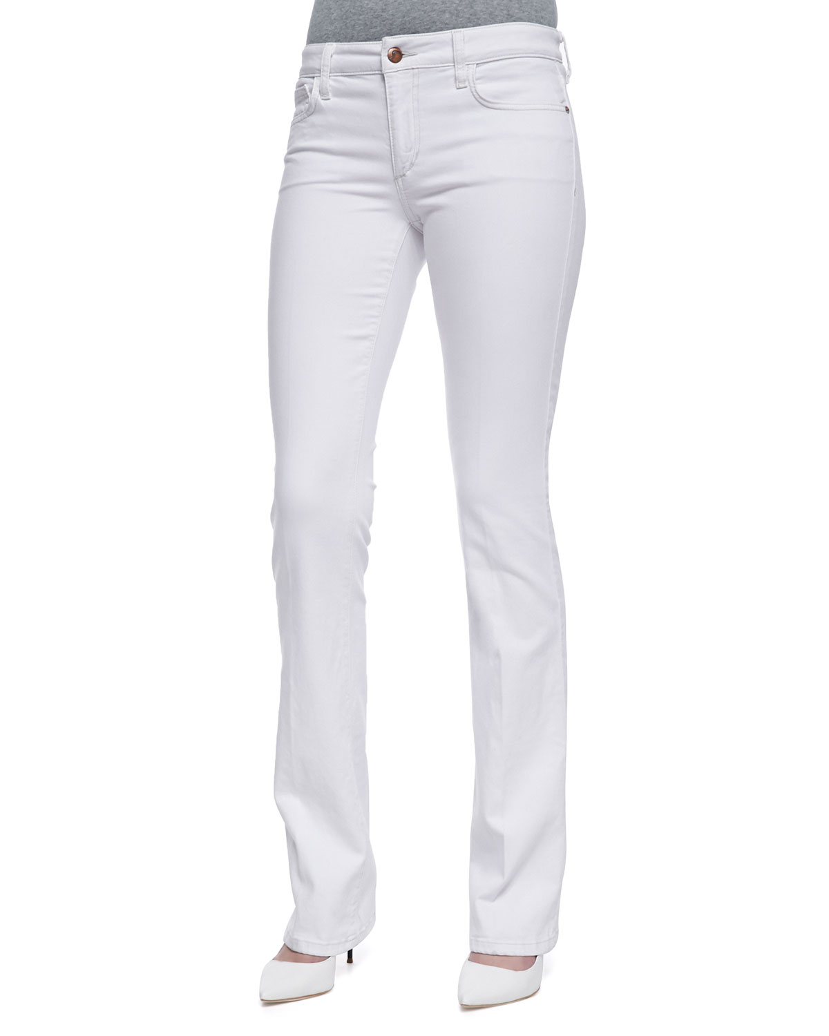 KUT $89 Womens New White Boot Cut, High Waist Casual Jeans S B+B. Sold by BOBBI + BRICKA. $ $ International Concepts Petite Size Jeans 18WP Slim Tech Bootcut Jeans Blue. Sold by Phoenix Trading Company. $ $ Belle by Kim Gravel Petite Size Jeans 8P Pull-On Elastic Waist Boot Cut Blue.